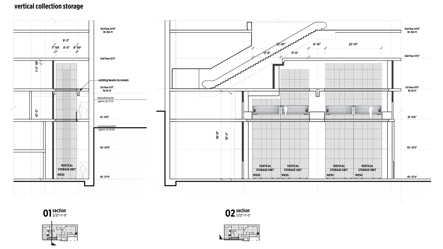 vertical collections plan-section 170517.jpg