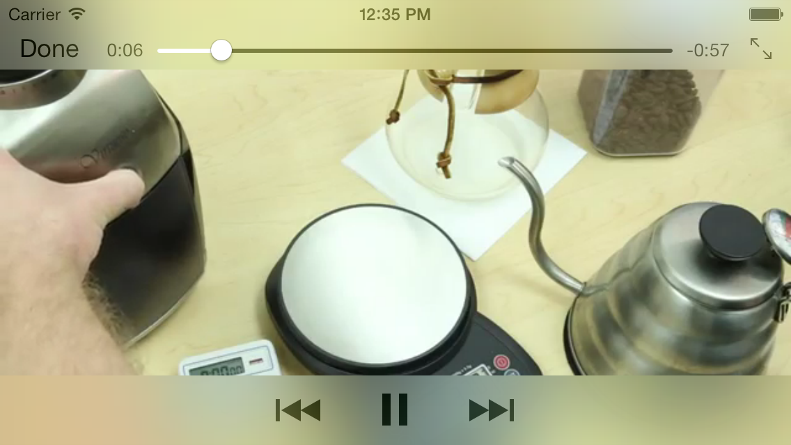 Play a YouTube Video URL from your iPhone App on iOS 7