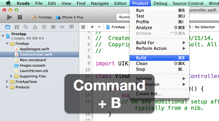 14 Xcode Keyboard Shortcuts - To Make You More a Productive iOS