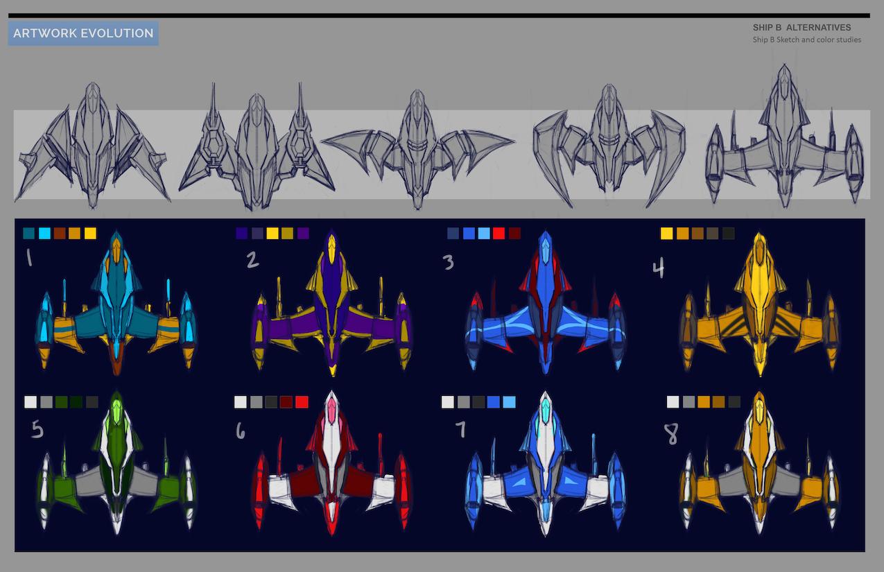 Spaceship concept art 2