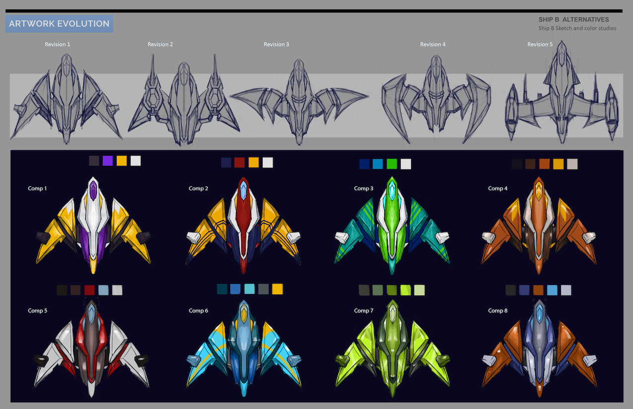 Spaceship concept art 1