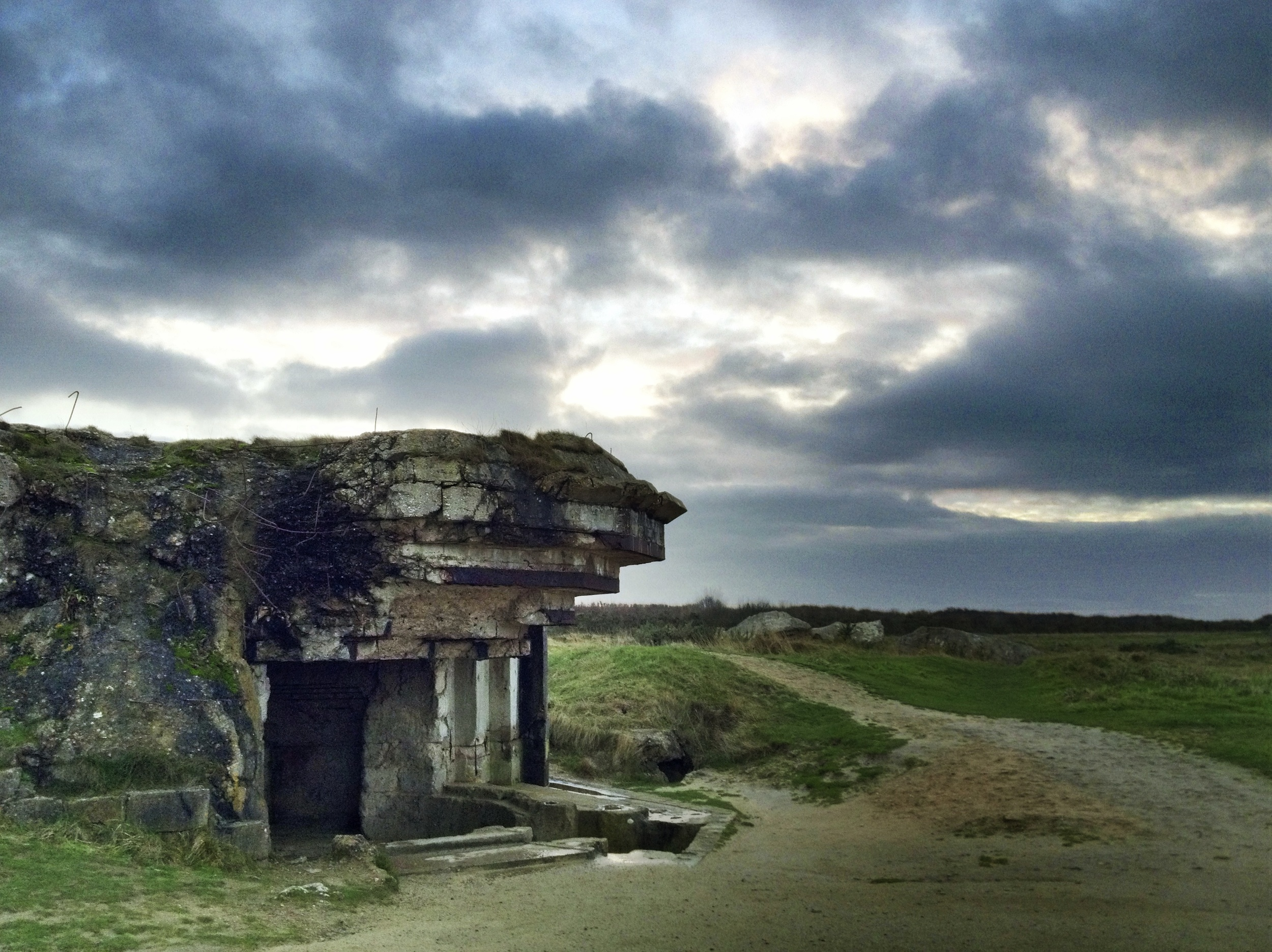 WWII bunker, Point du Hoc