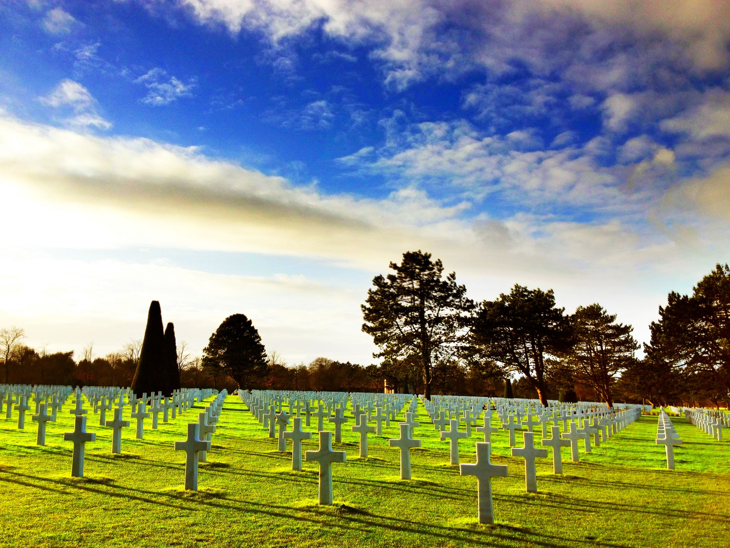 American Cemetery in Normandy