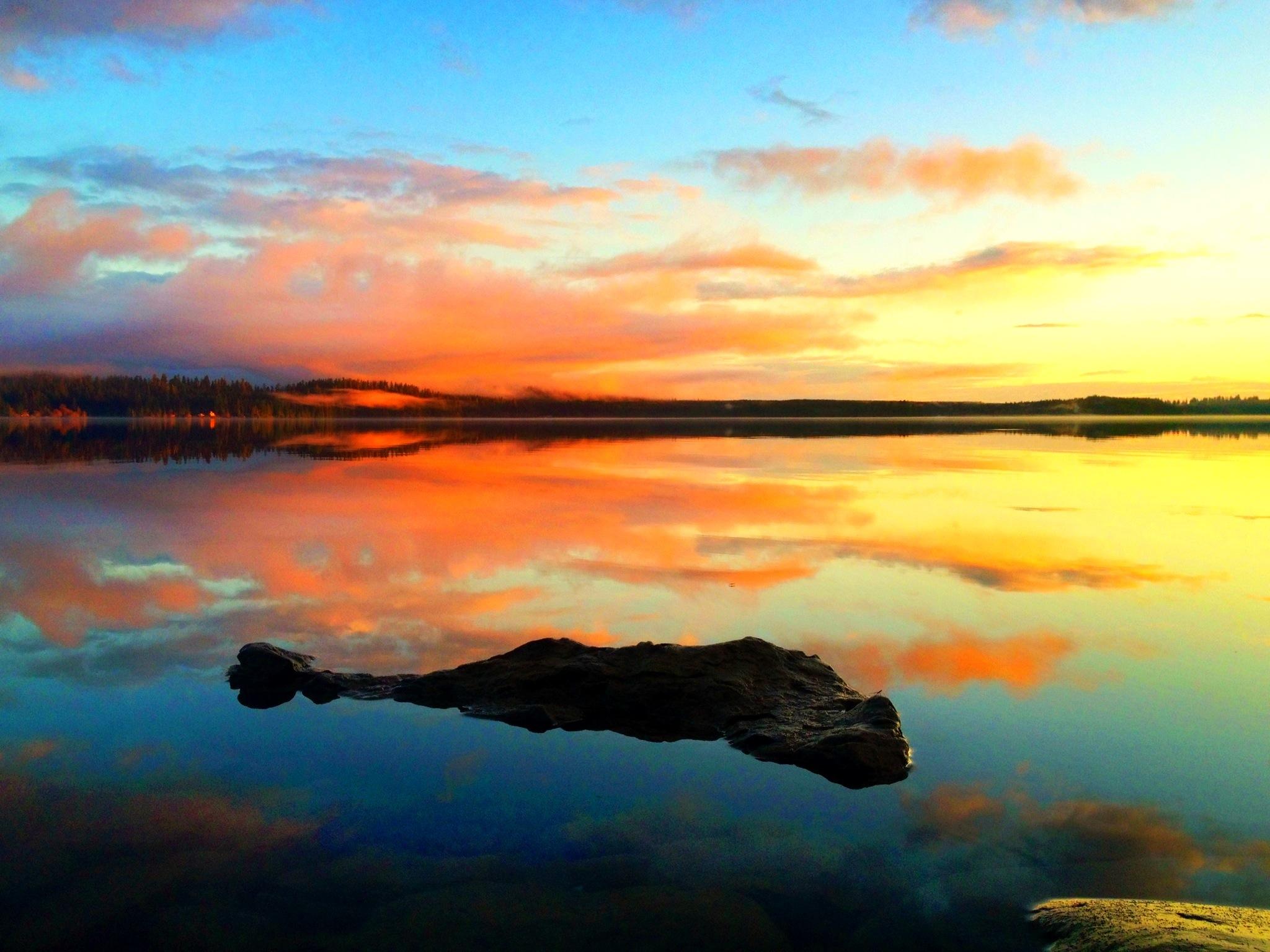Olympic Peninsula, Quinault Lake Washington ©ChloëRain