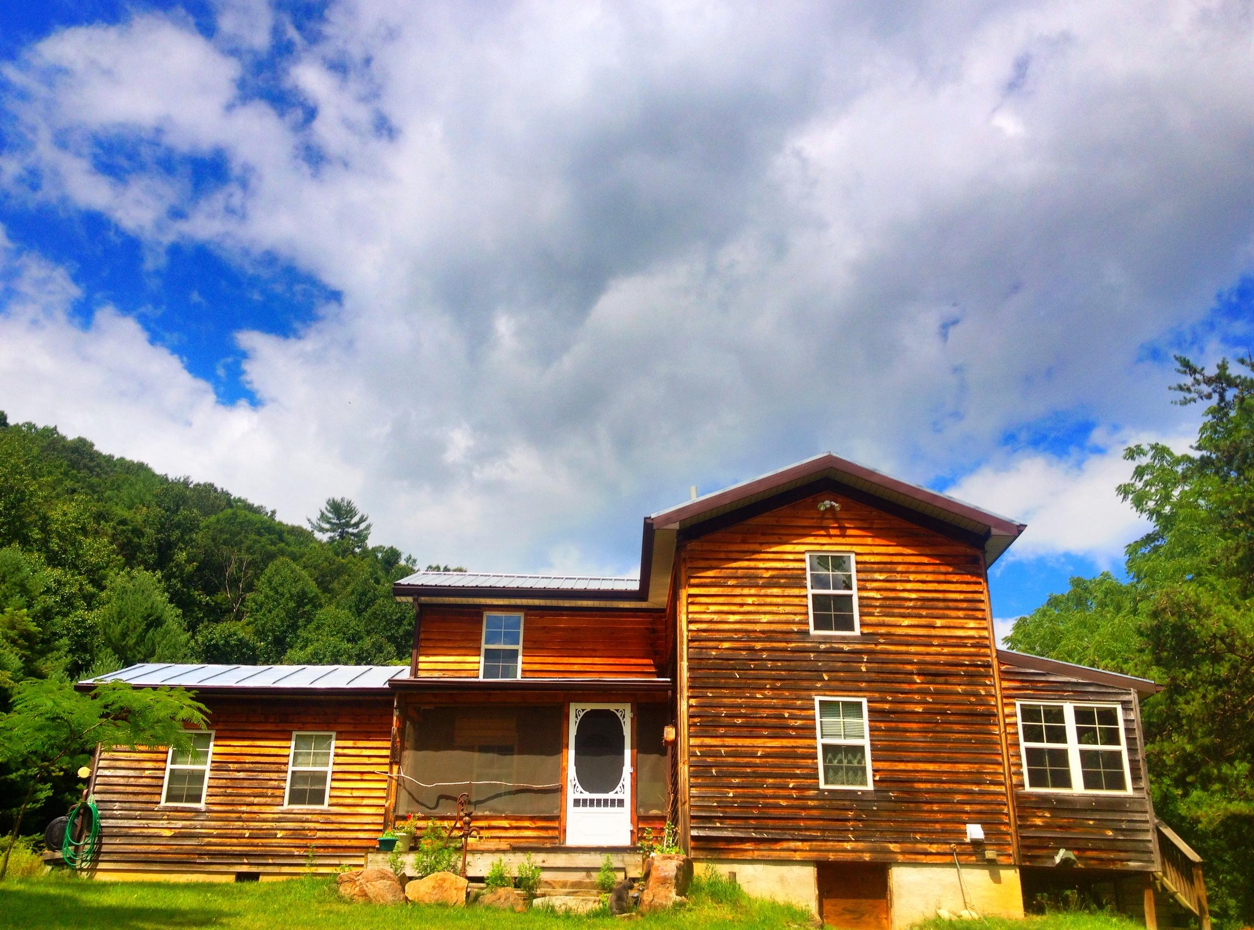 Sky Water Hollow Cabin, July 2014