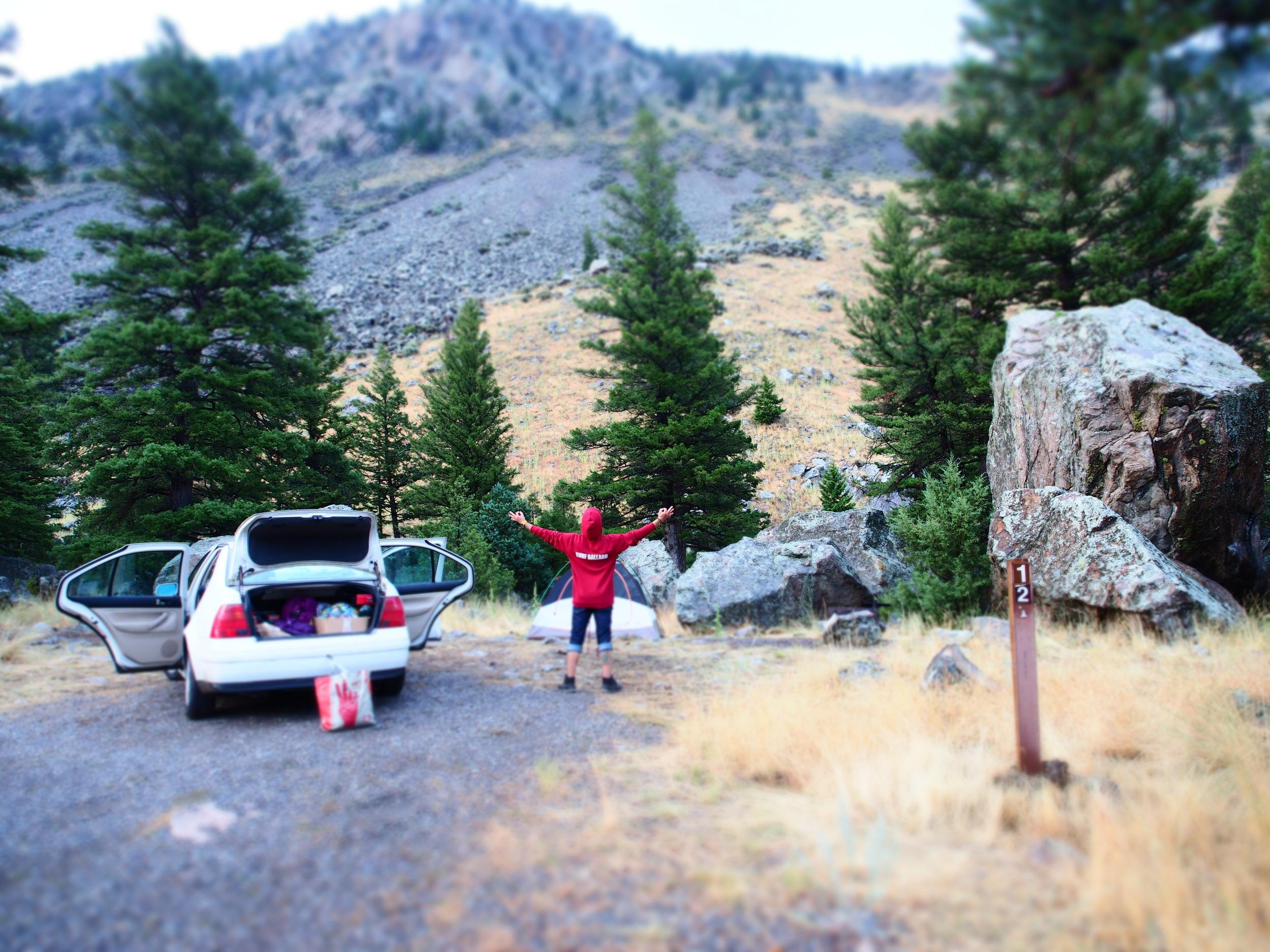 Yellowstone North Entrance Campsite