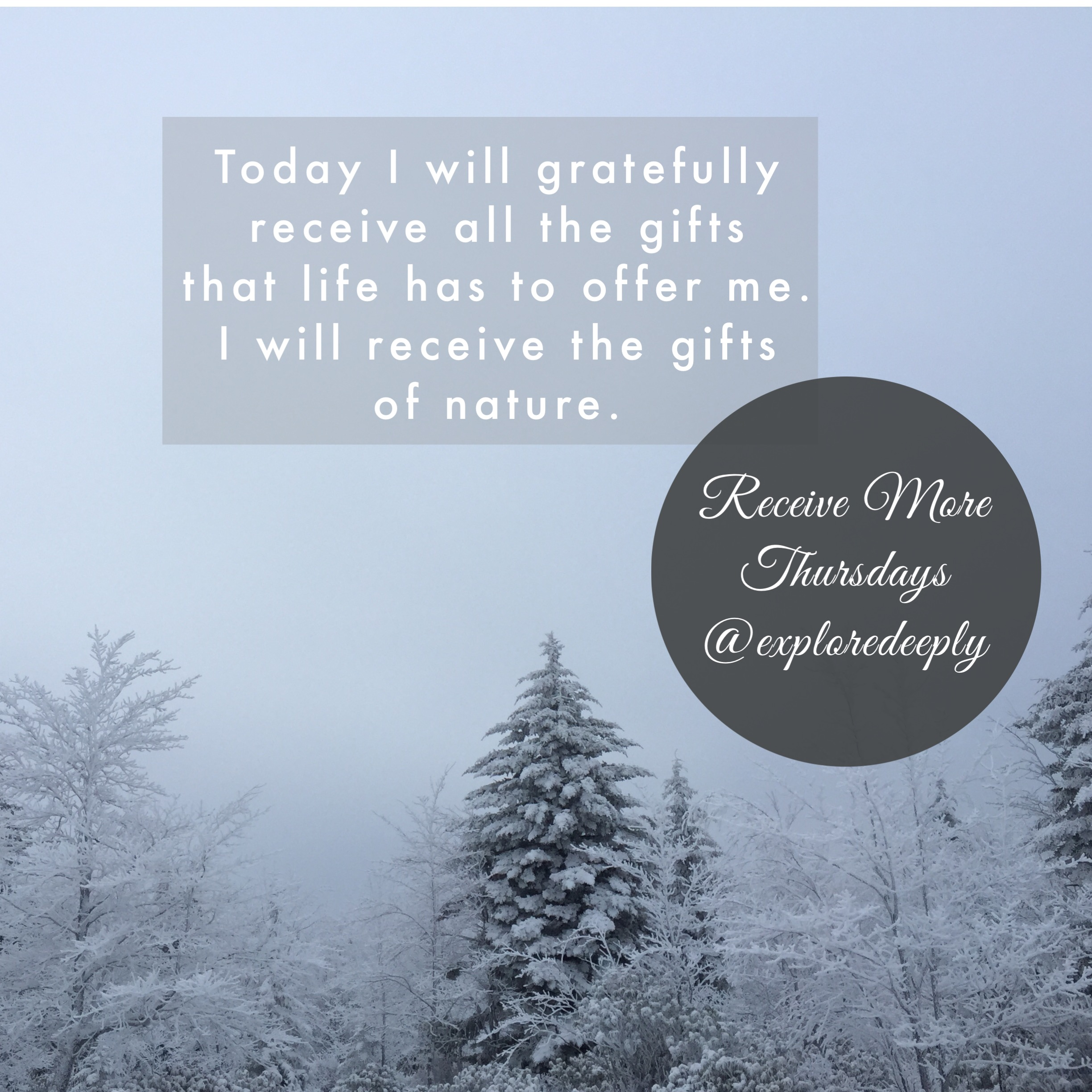 receiving thursday gifts from all around