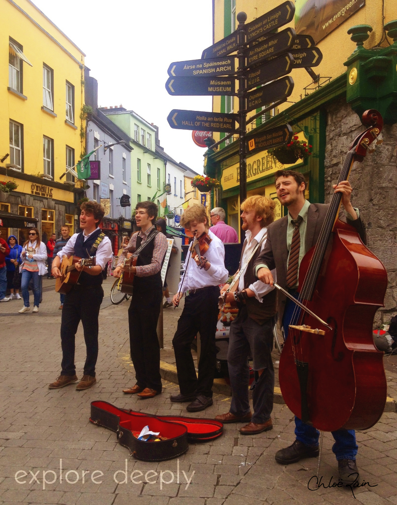 Galway City, Irish Music Festival