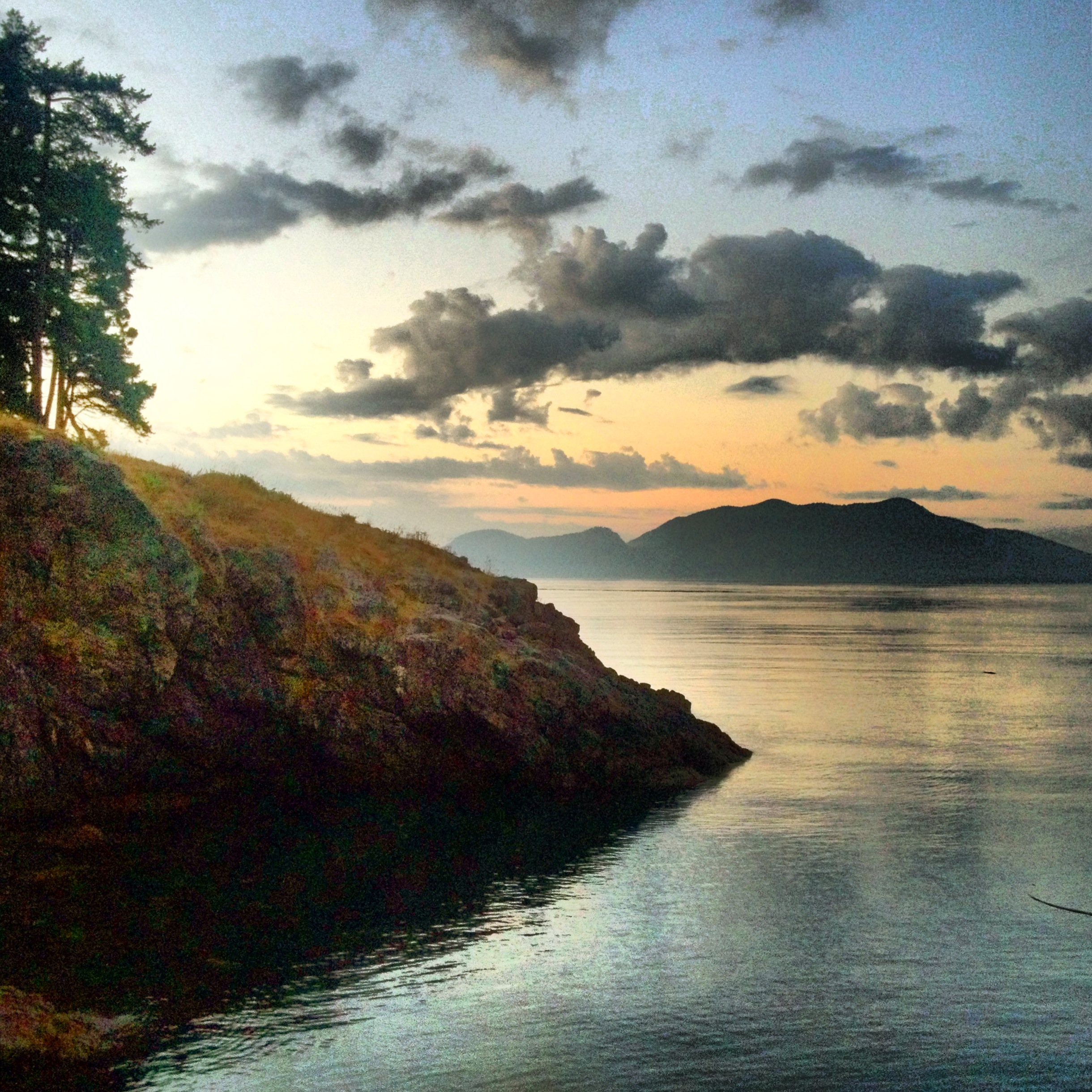 Morning light, Doe Bay