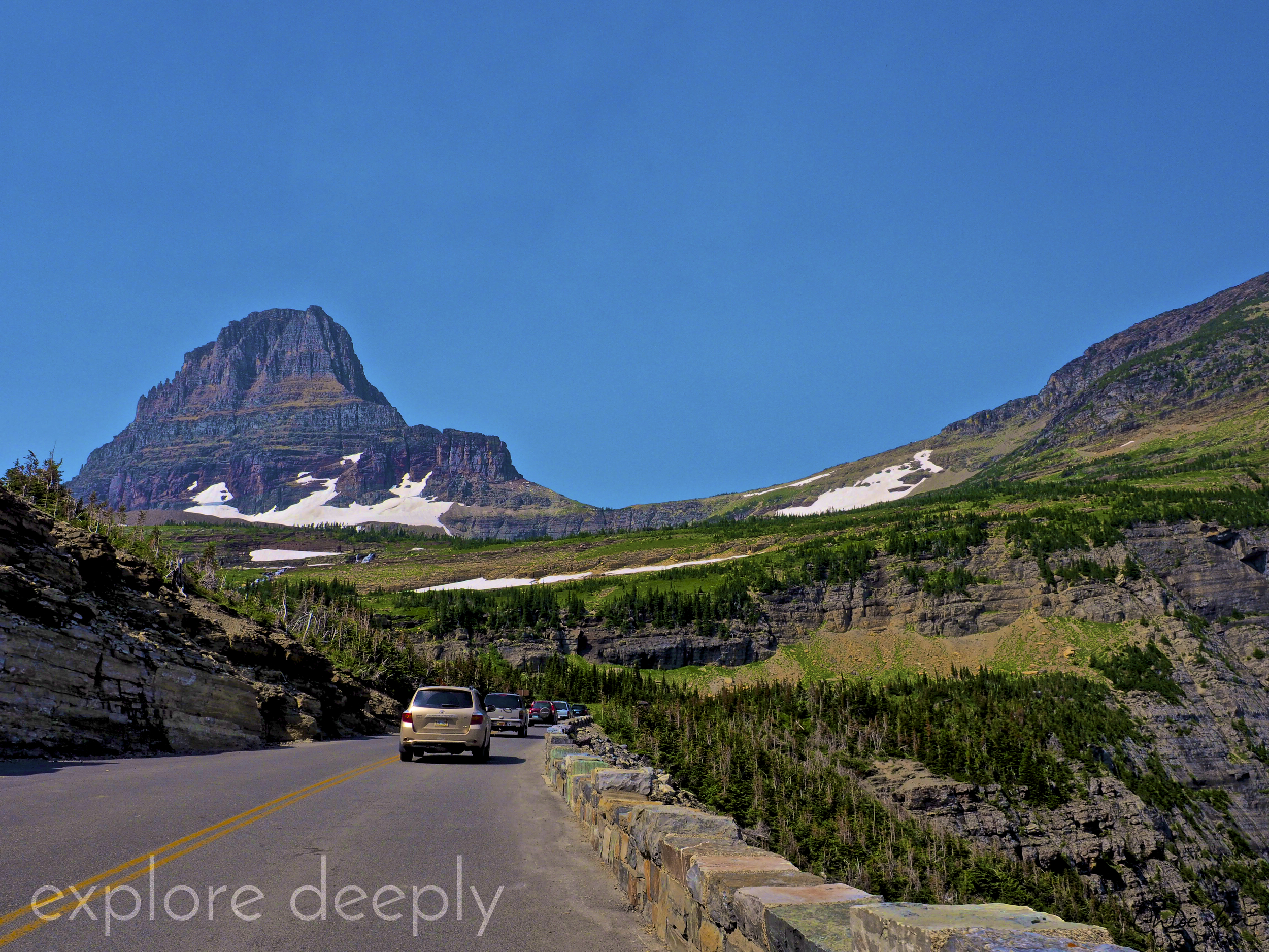 Going-to-the-Sun-Road : Glacier National Park : Montana : Explore Deeply