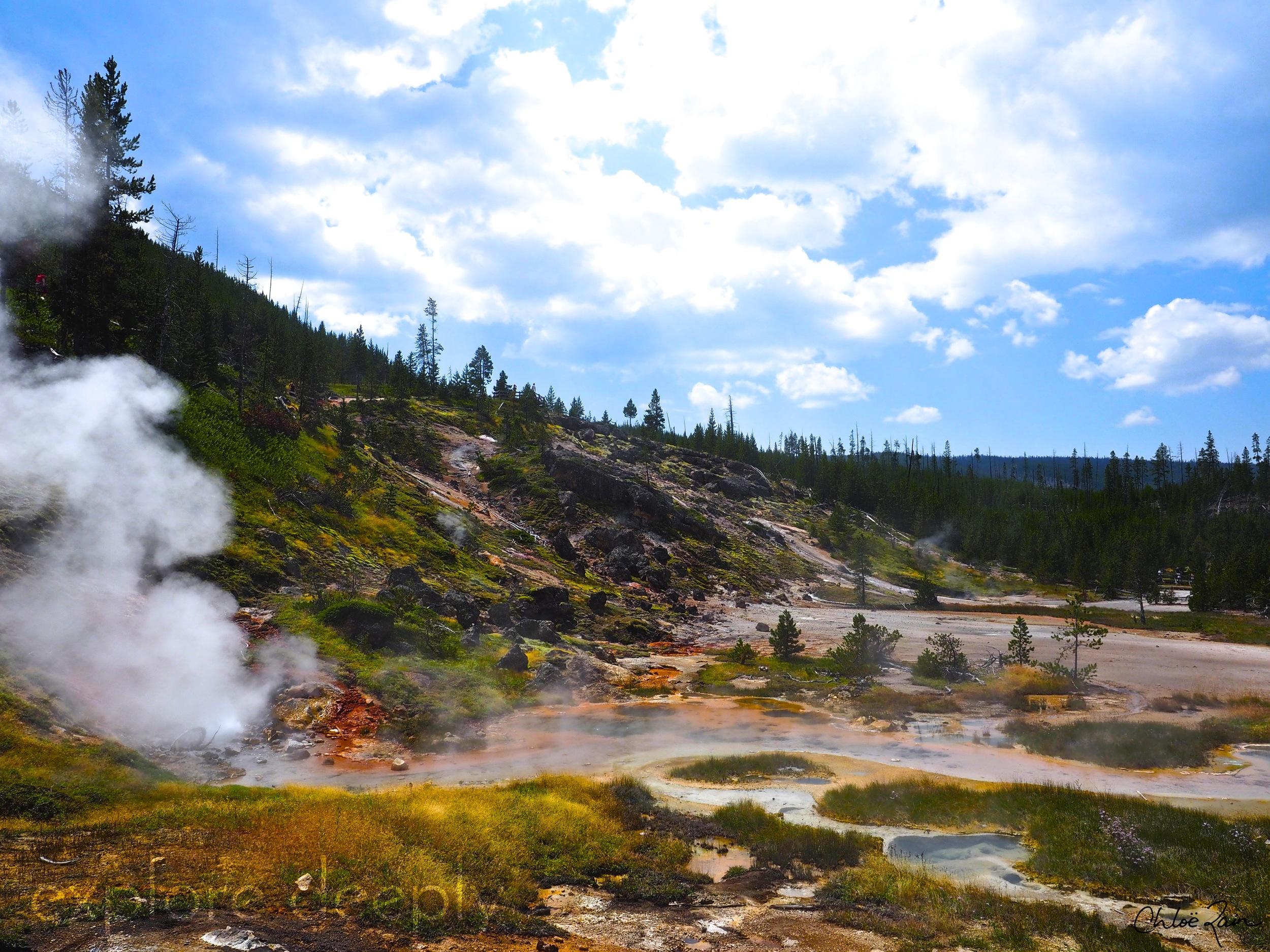 Artist Paint Pots Yellowstone National Park