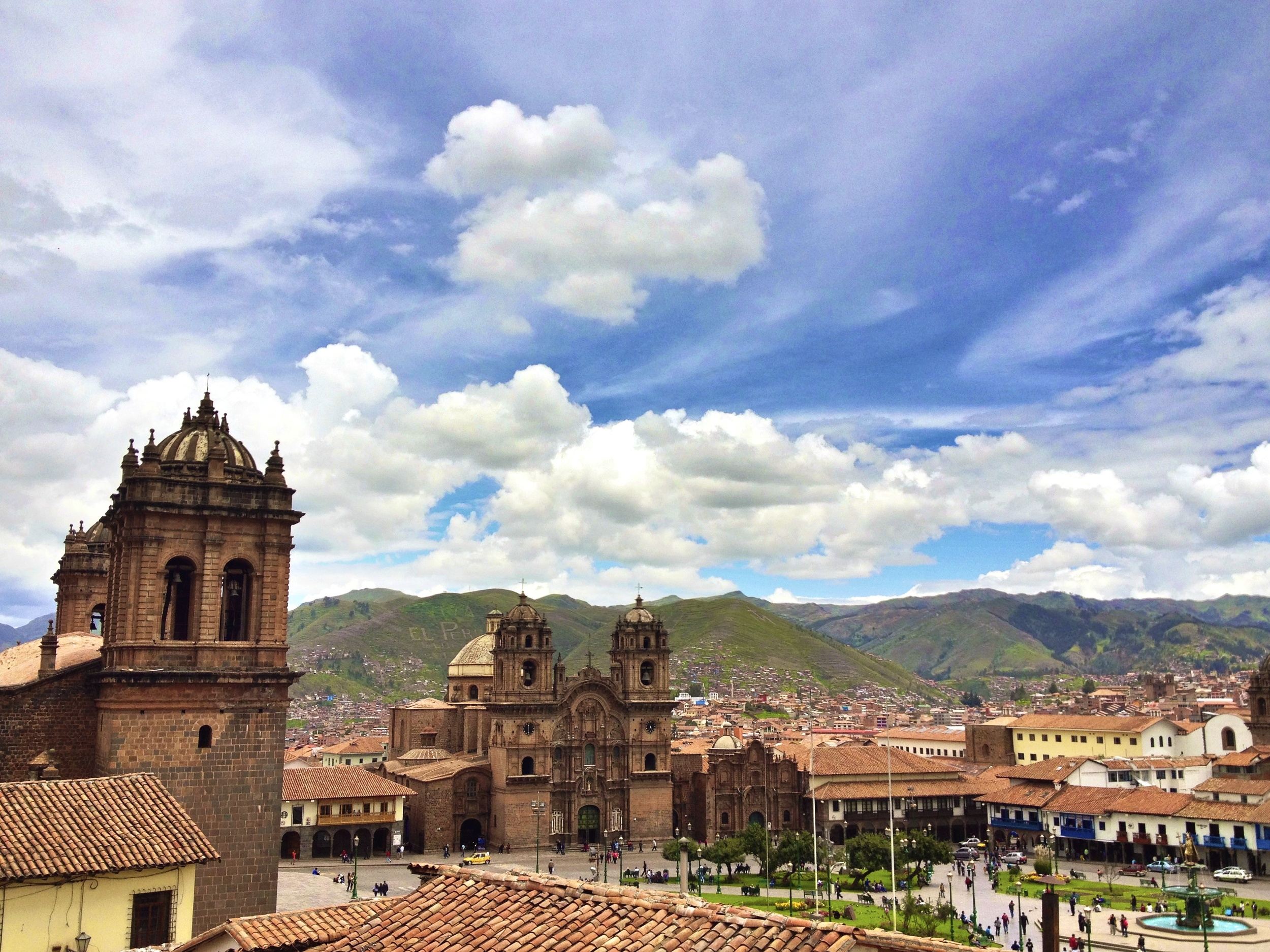 The beautiful city of Cusco, Peru