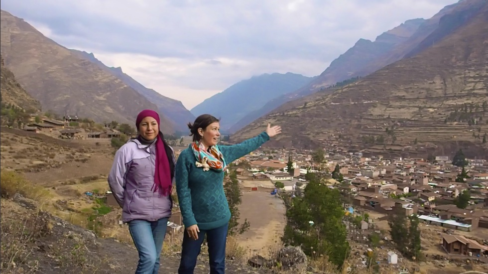 Sacred Valley of the Inca: Pisac : Cuzco Peru : Energy Transmission