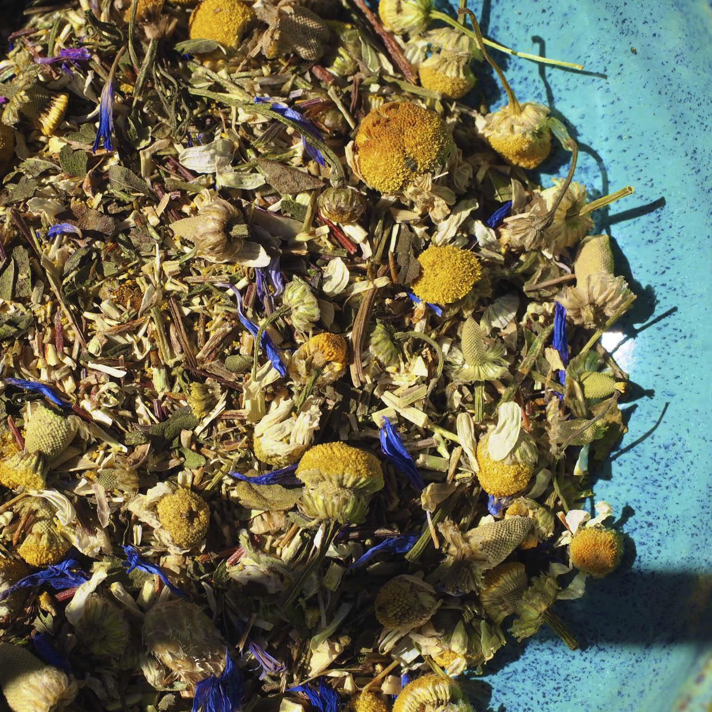 Explore Deeply Herbal Organic Tea Blend for Divination & Third Eye Sight