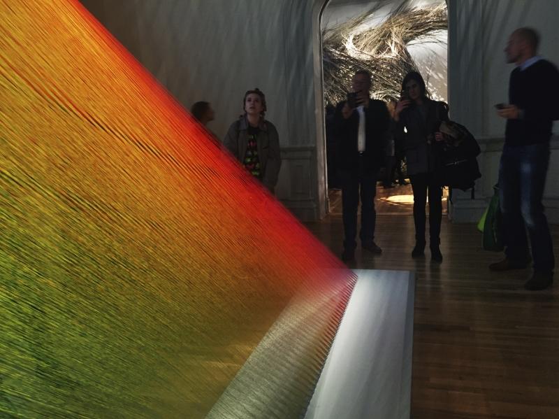 Renwick Gallery : WONDER : Opening Exhibit: Gabriel Dawe