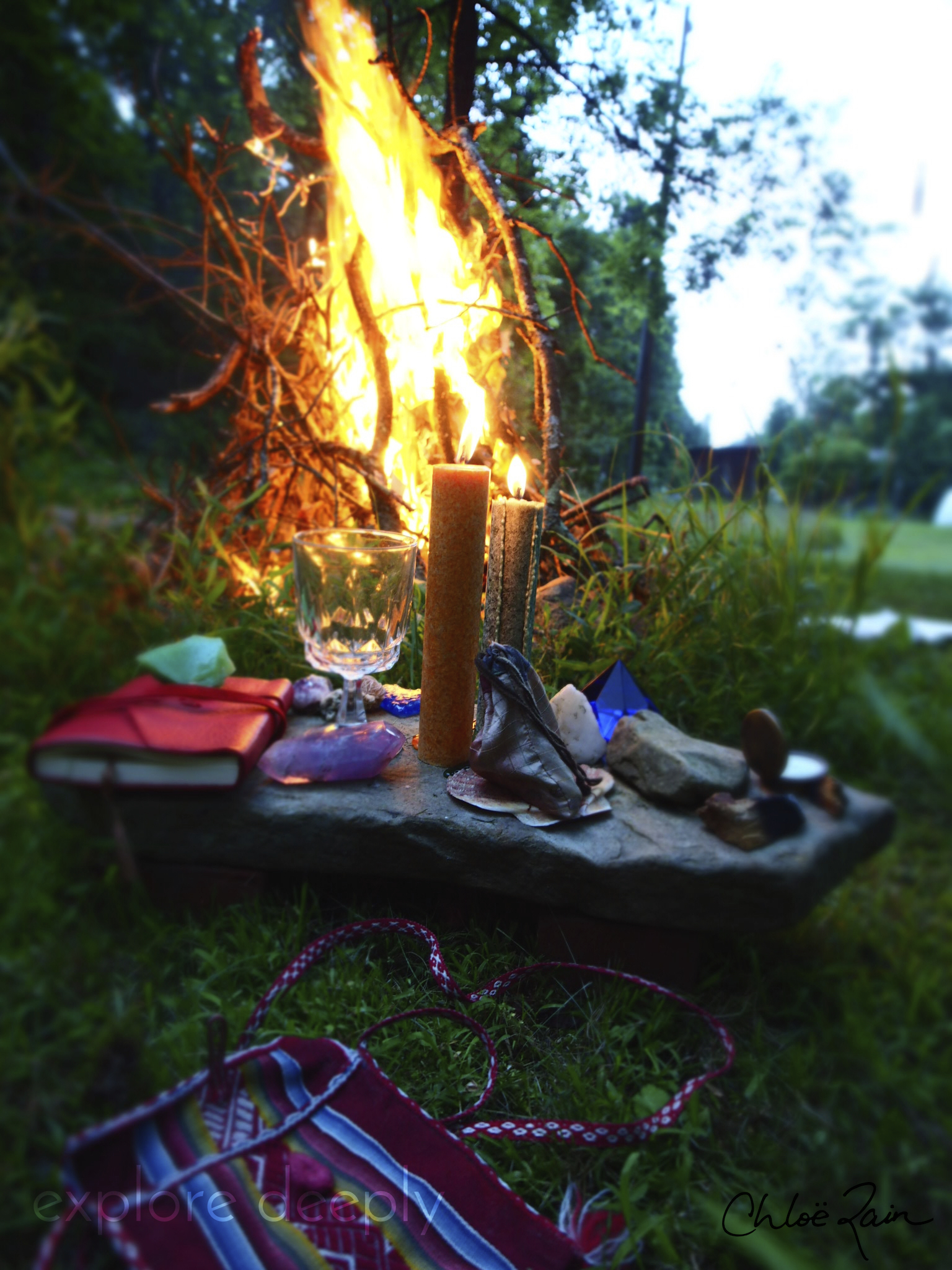 Full Moon Fire Ceremonies