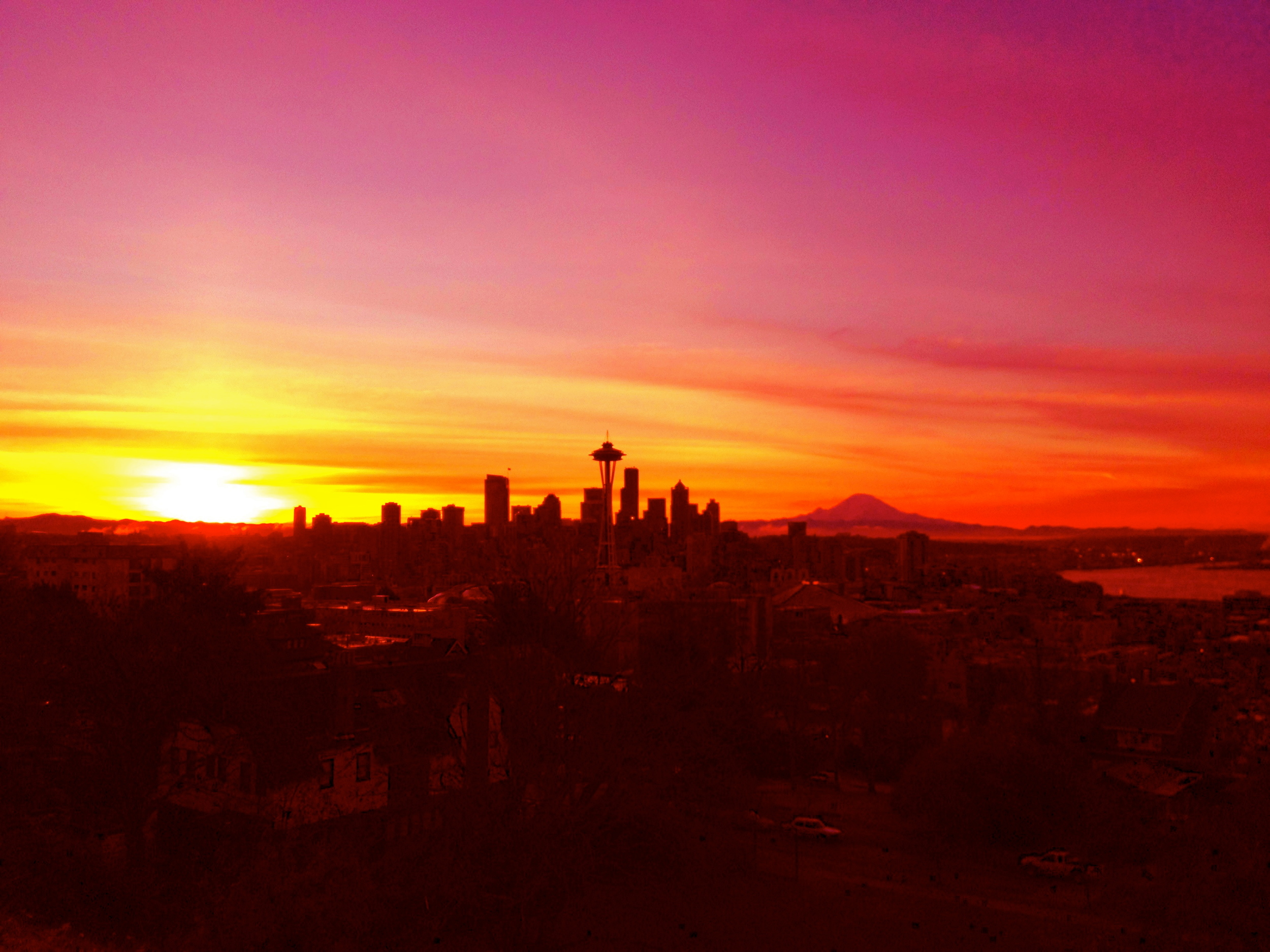 Morning Sunrise in Seattle