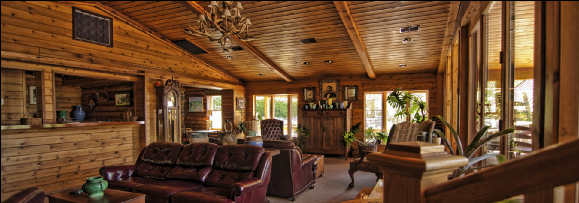 Inside the Lodge