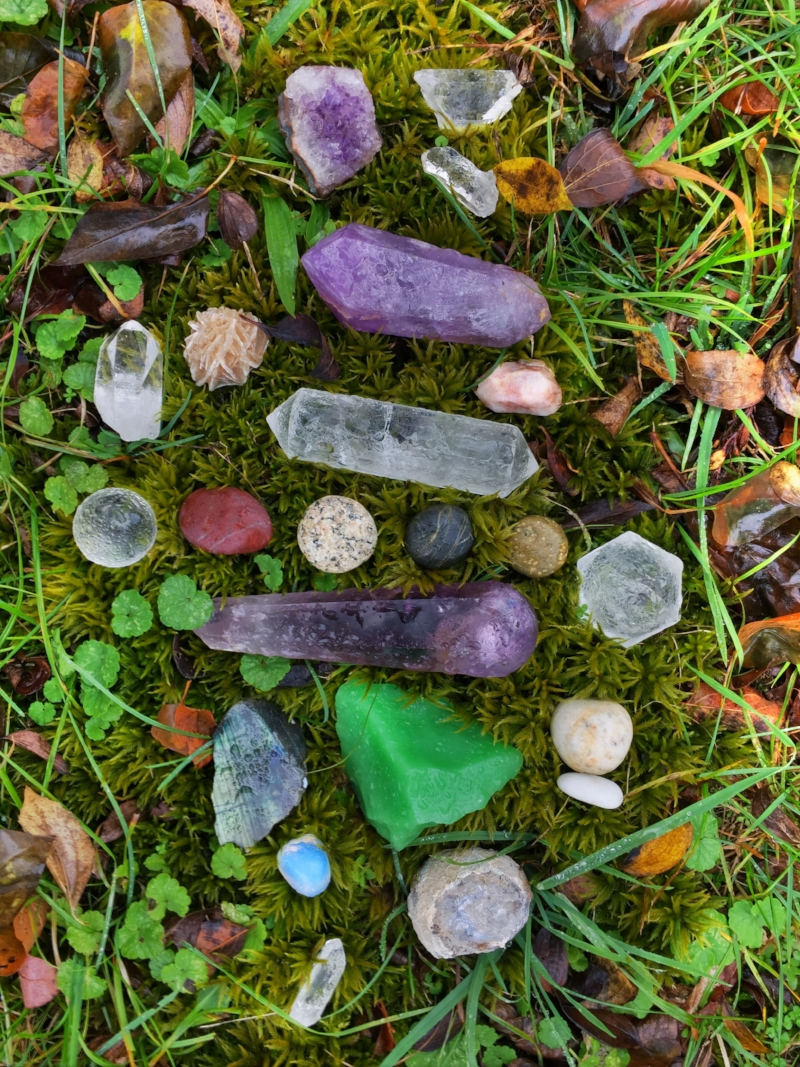 Receive the healing wisdom of the stones.
