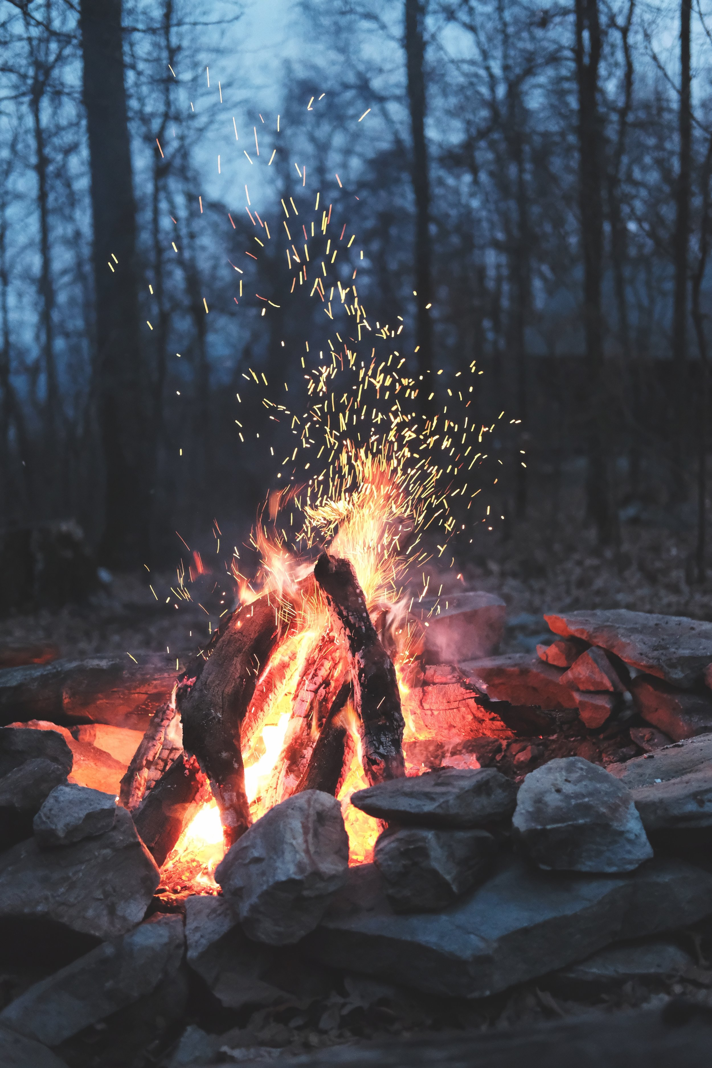 Fire Ceremony for Winter Solstice 2017