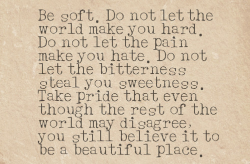 The World is a Beautiful Place Quote
