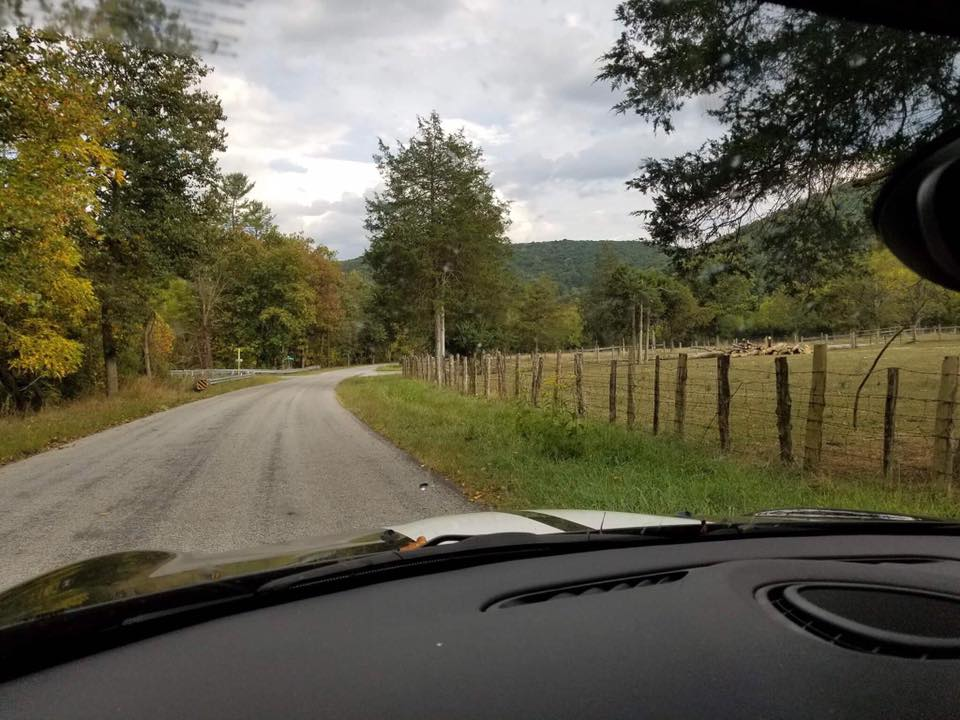 Paved Road leading to Skywater Hollow