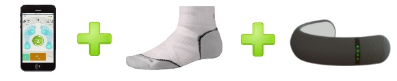 Courtesy: Sensoria Smart Sock Fitness