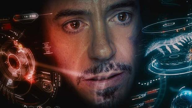 Iron-man style glass visualisations