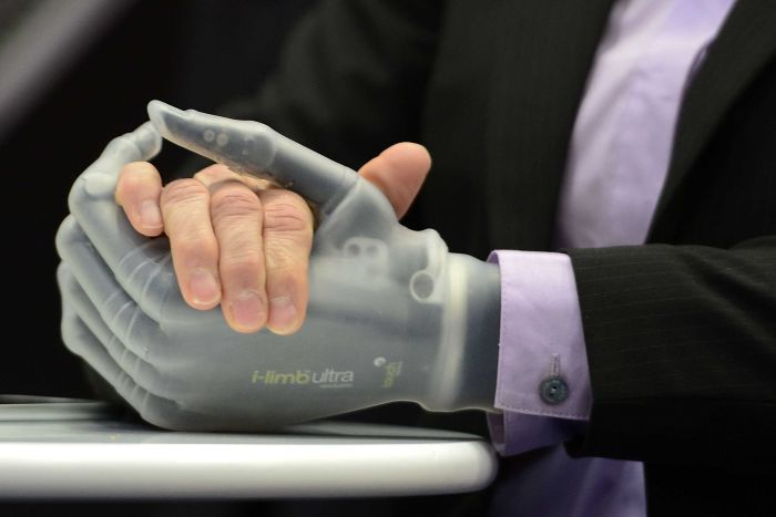 IMAGE:    GET READY FOR CYBERNETIC IMPLANTS, NANOBOTS AND MANIPULATED DNA.     (Getty Images)