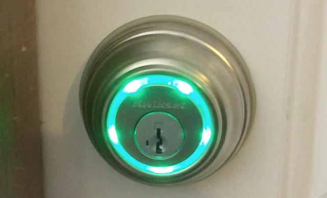 http://www.tuaw.com/2014/04/30/kwikset-kevo-using-your-iphone-to-lock-and-unlock-doors/