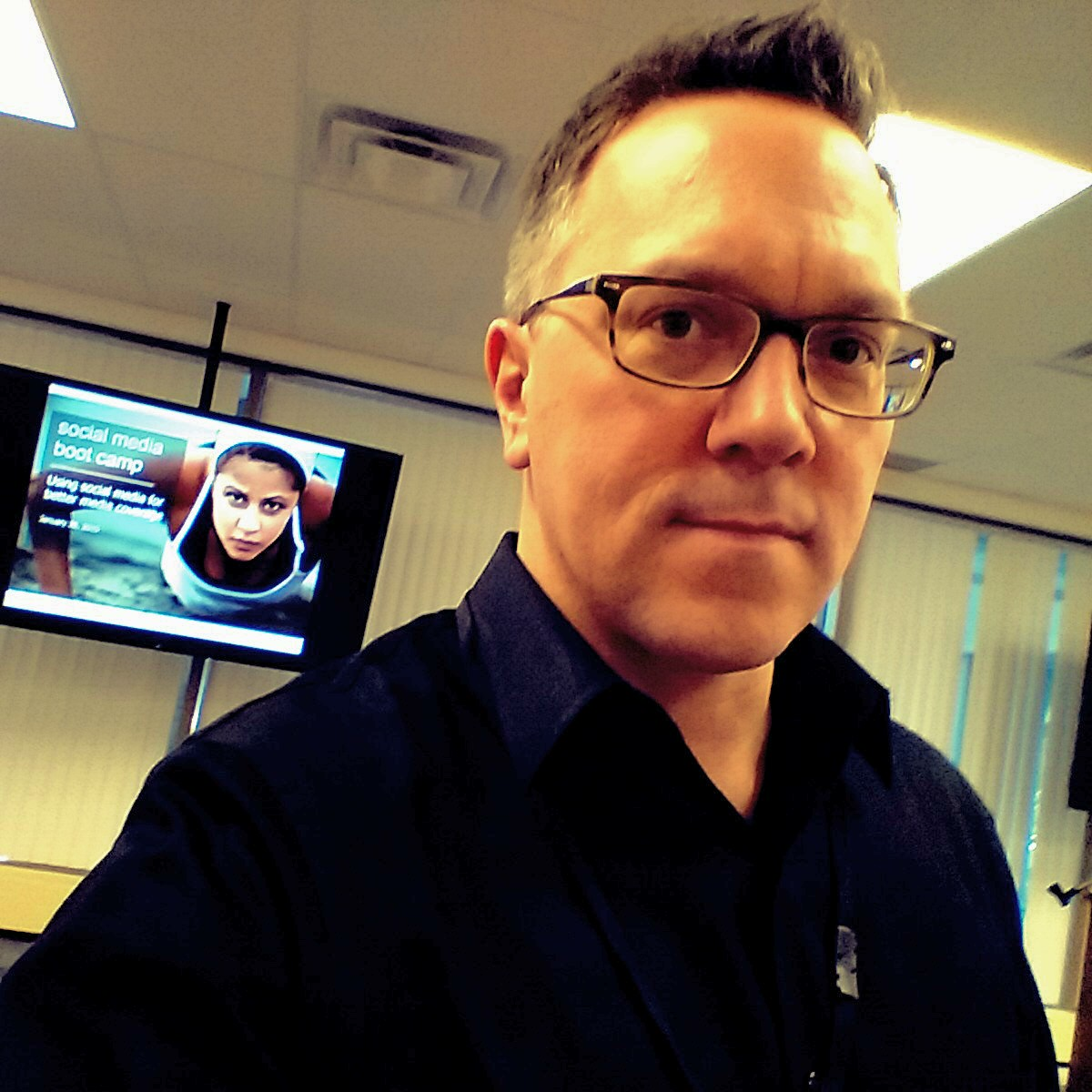 warren weeks Running a social media 'boot camp' series for a client in toronto in 2015.