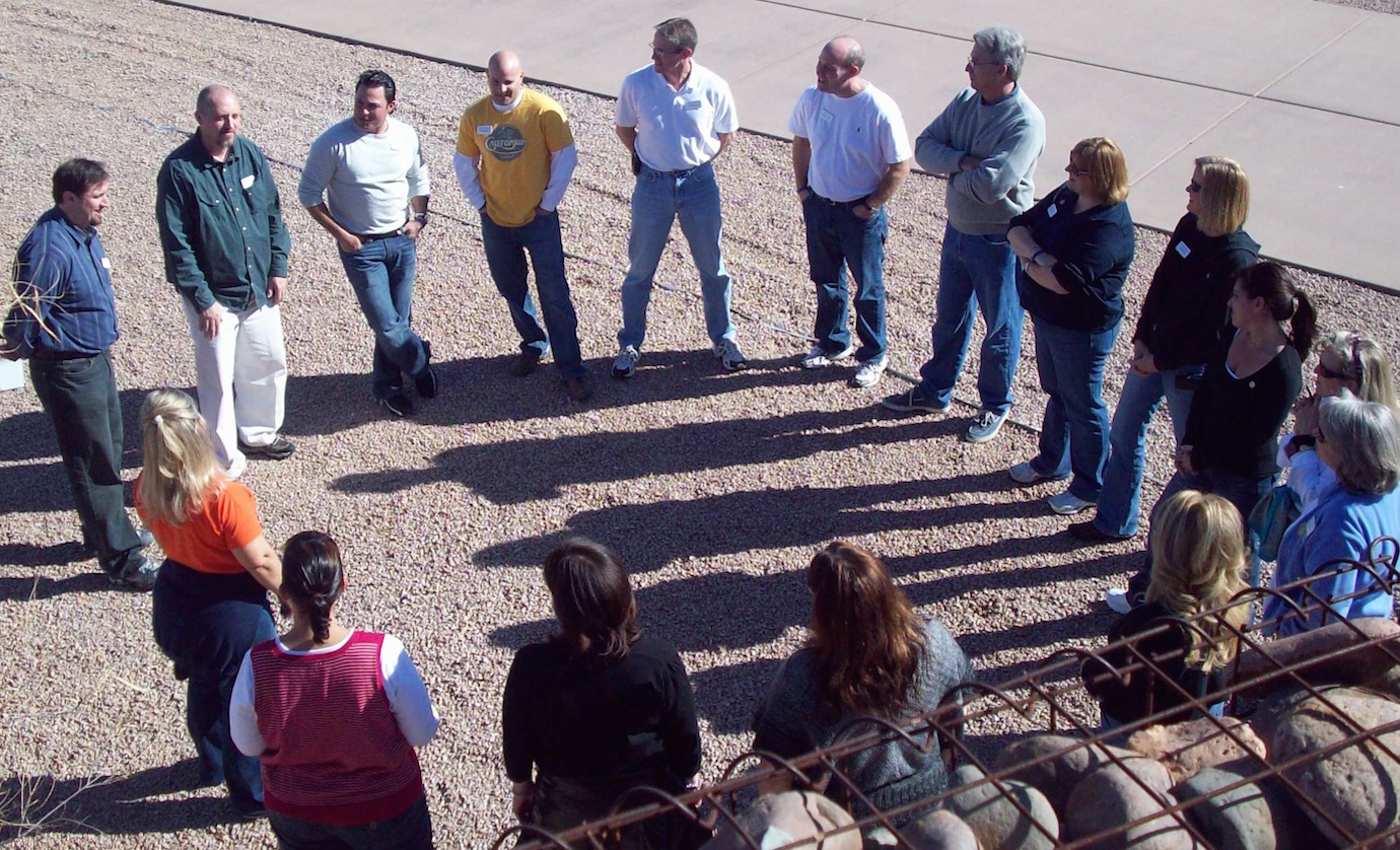 Become more effective as a team with fun, professionally-facilitated team building events in Sedona and throughout Arizona.