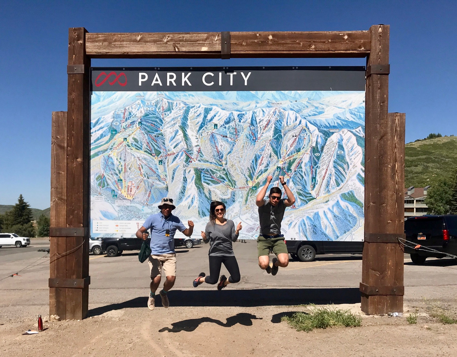 GPS Treasure Quest, a fun and exciting team geocaching event in Park City, Utah