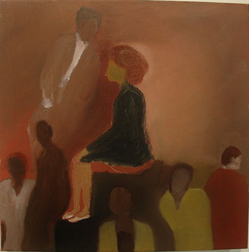 Anunciacion. 2012 12x12 oil/canvas