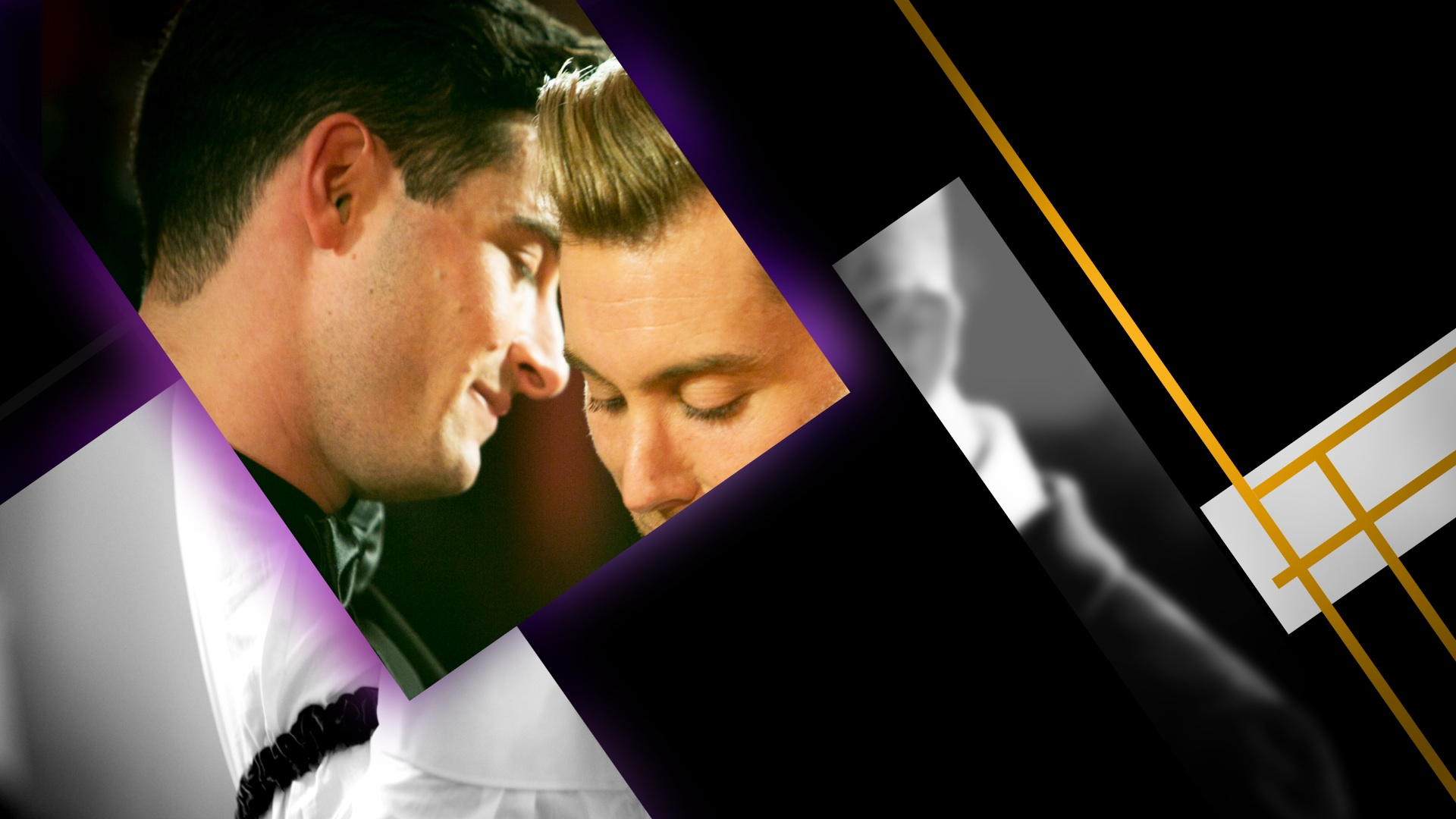 main title design | Lance Loves Michael: The Lance Bass Wedding