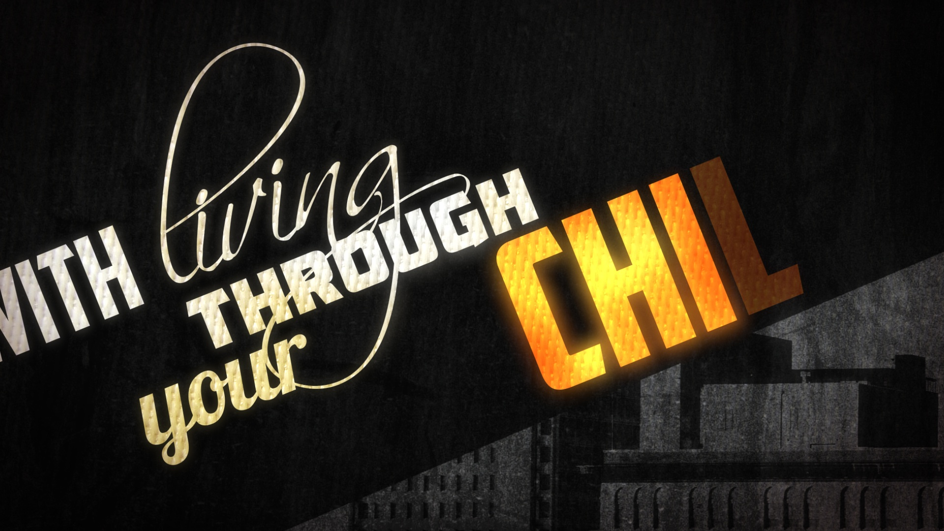 typography in motion graphic design | Cheer Perfection | jonberrydesign