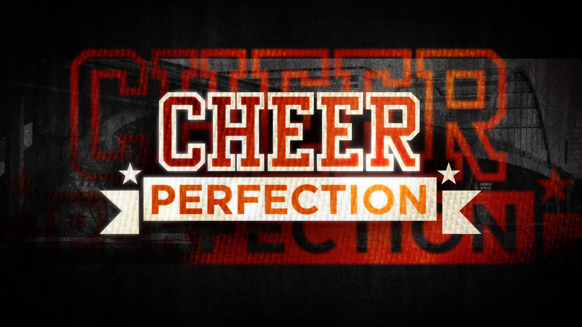tv main title design | Cheer Perfection | jonberrydesign