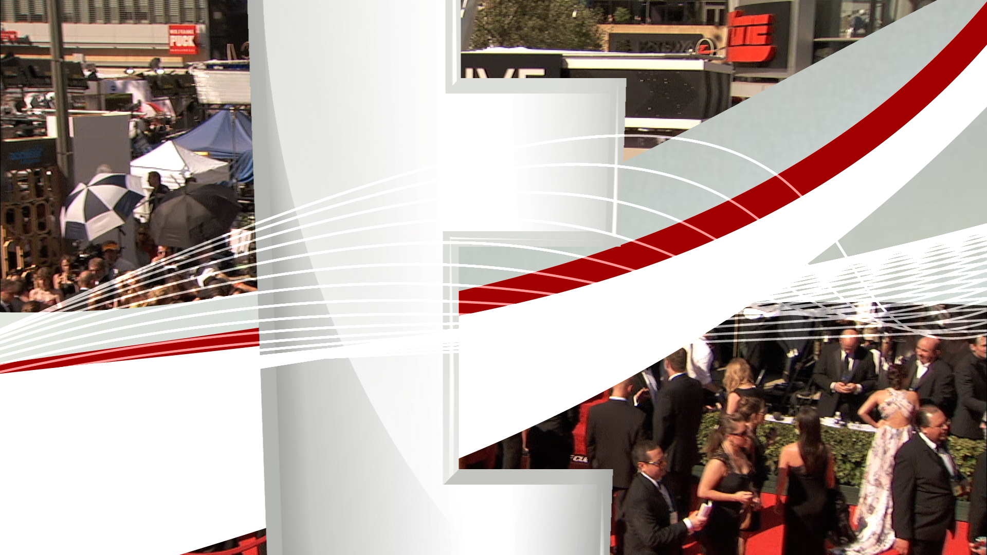 television graphics | Live from the Red Carpet | jonberrydesign
