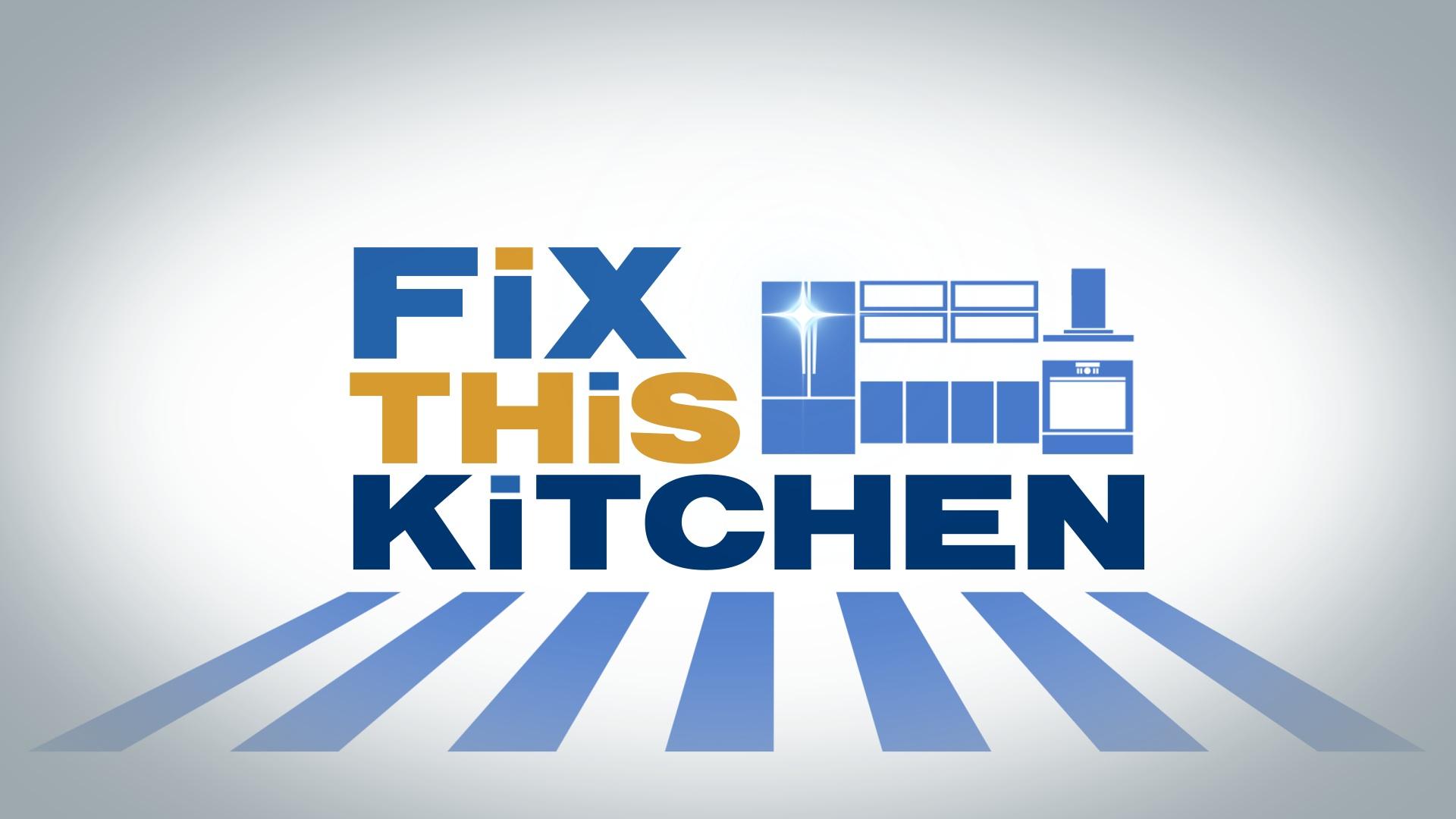 main title design | Fix This Kitchen
