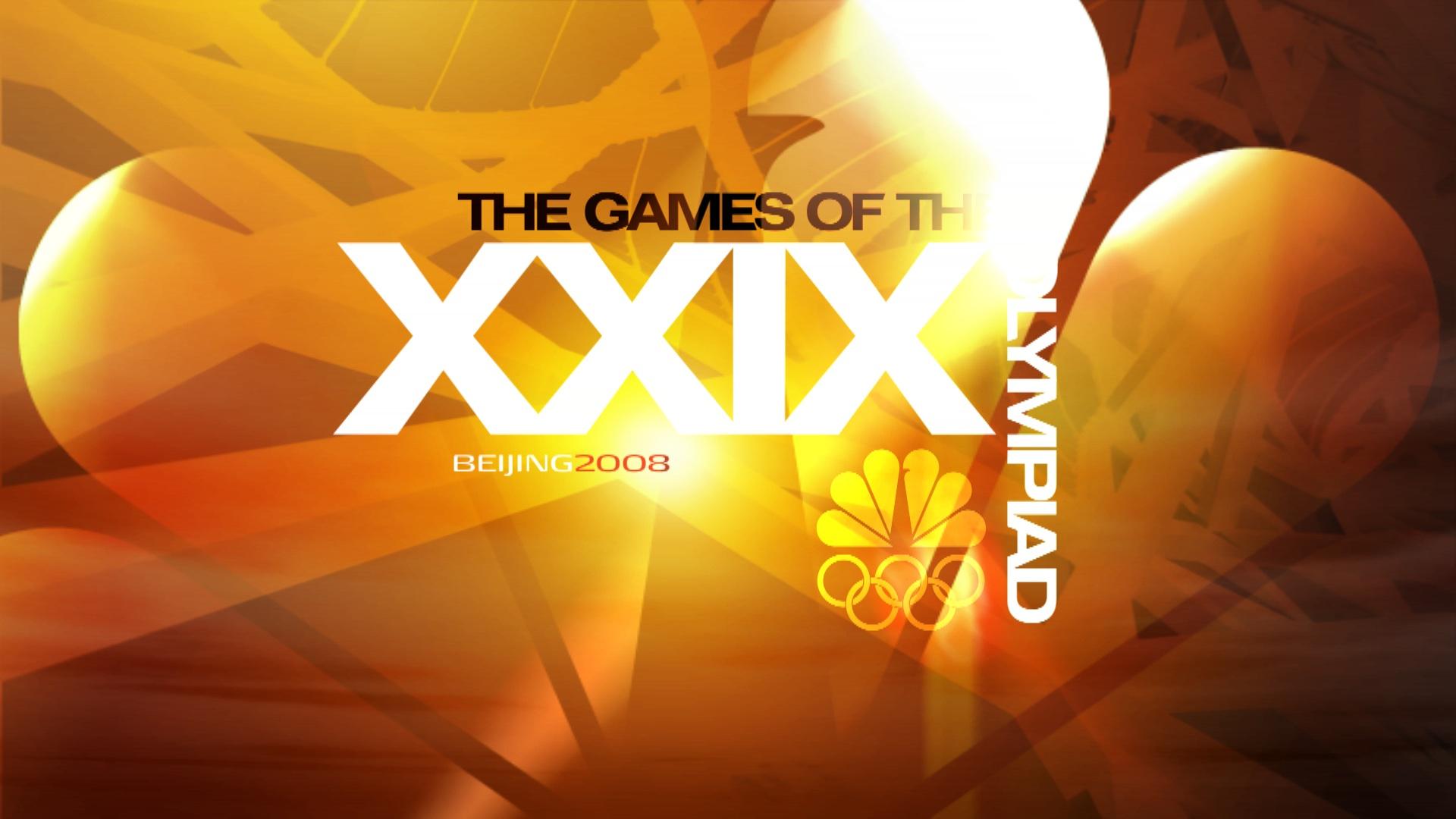 GAMES OF THE XXIX OLYMPIAD - NBC OLYMPICS
