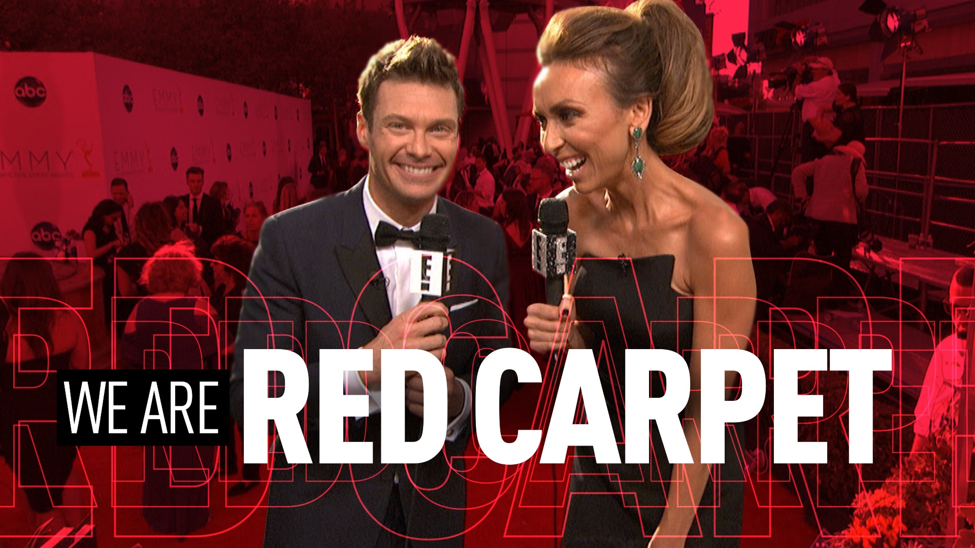 WE ARE RED CARPET - E! ENTERTAINMENT TELEVISION