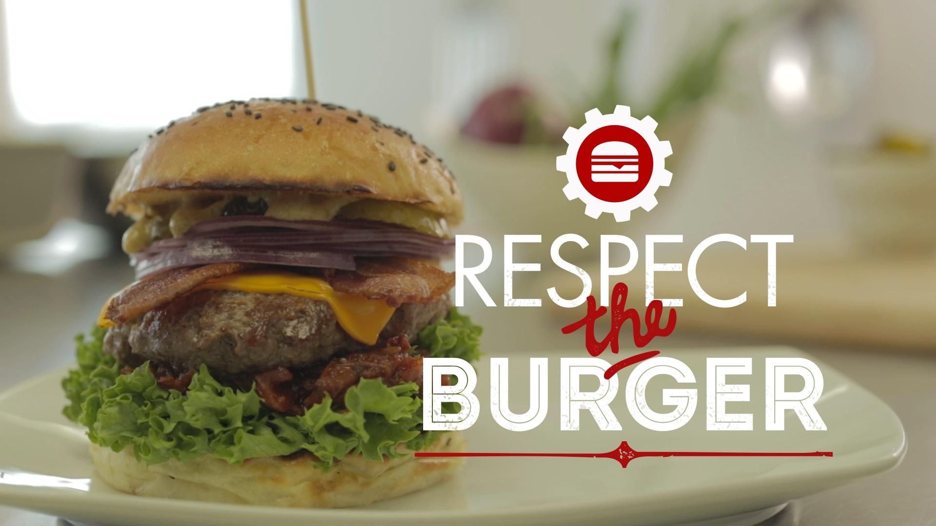 RESPECT THE BURGER - GRIND MODERN BURGER
