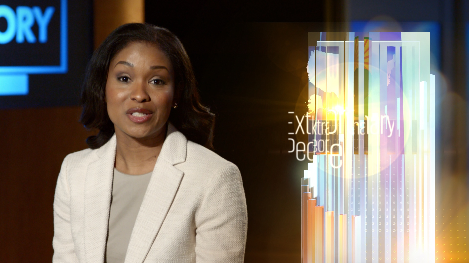 sports news graphics format for corporate video | Spot the Story | jonberrydesign