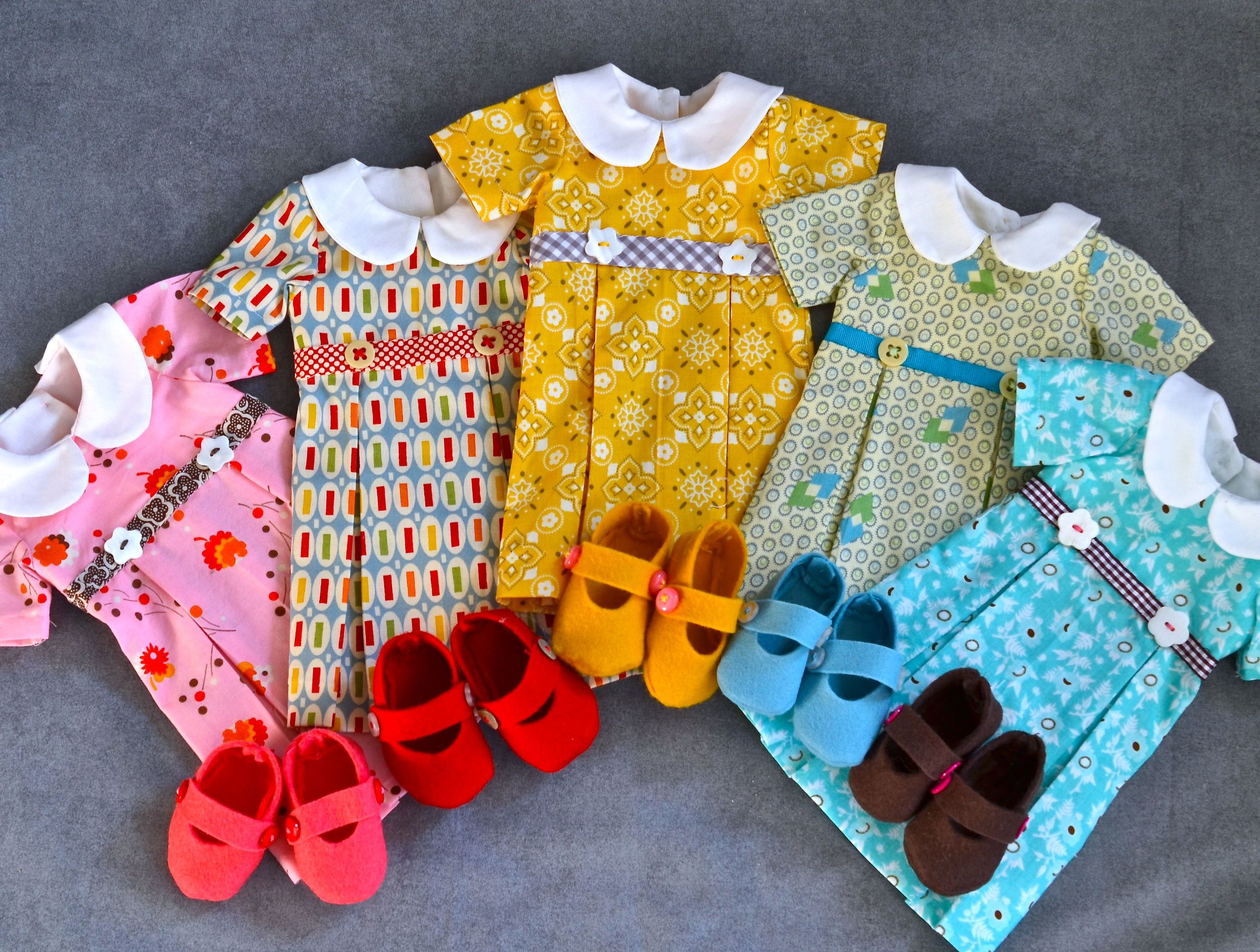 Five doll dresses and shoes medium1.jpg