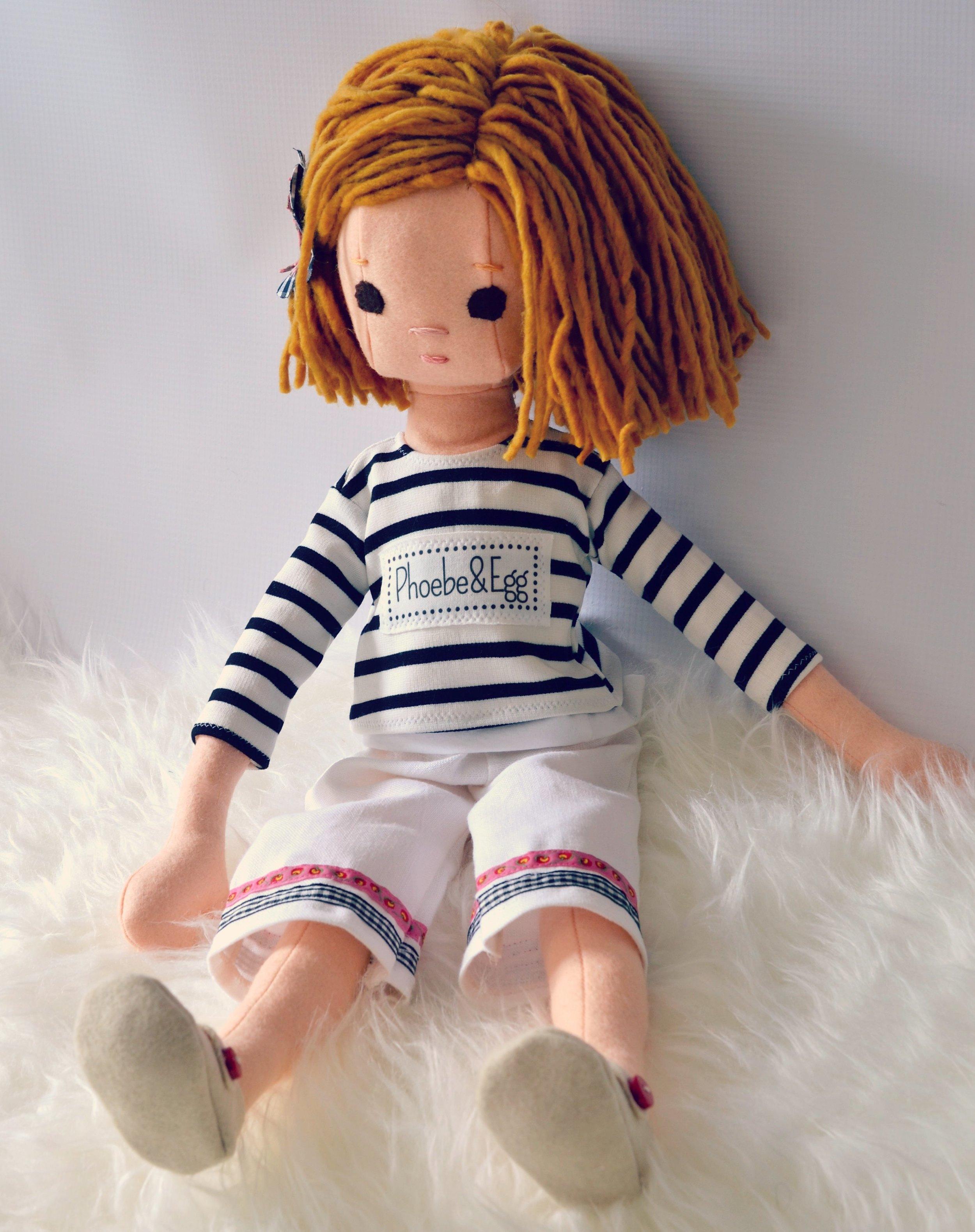 Wool Rag doll