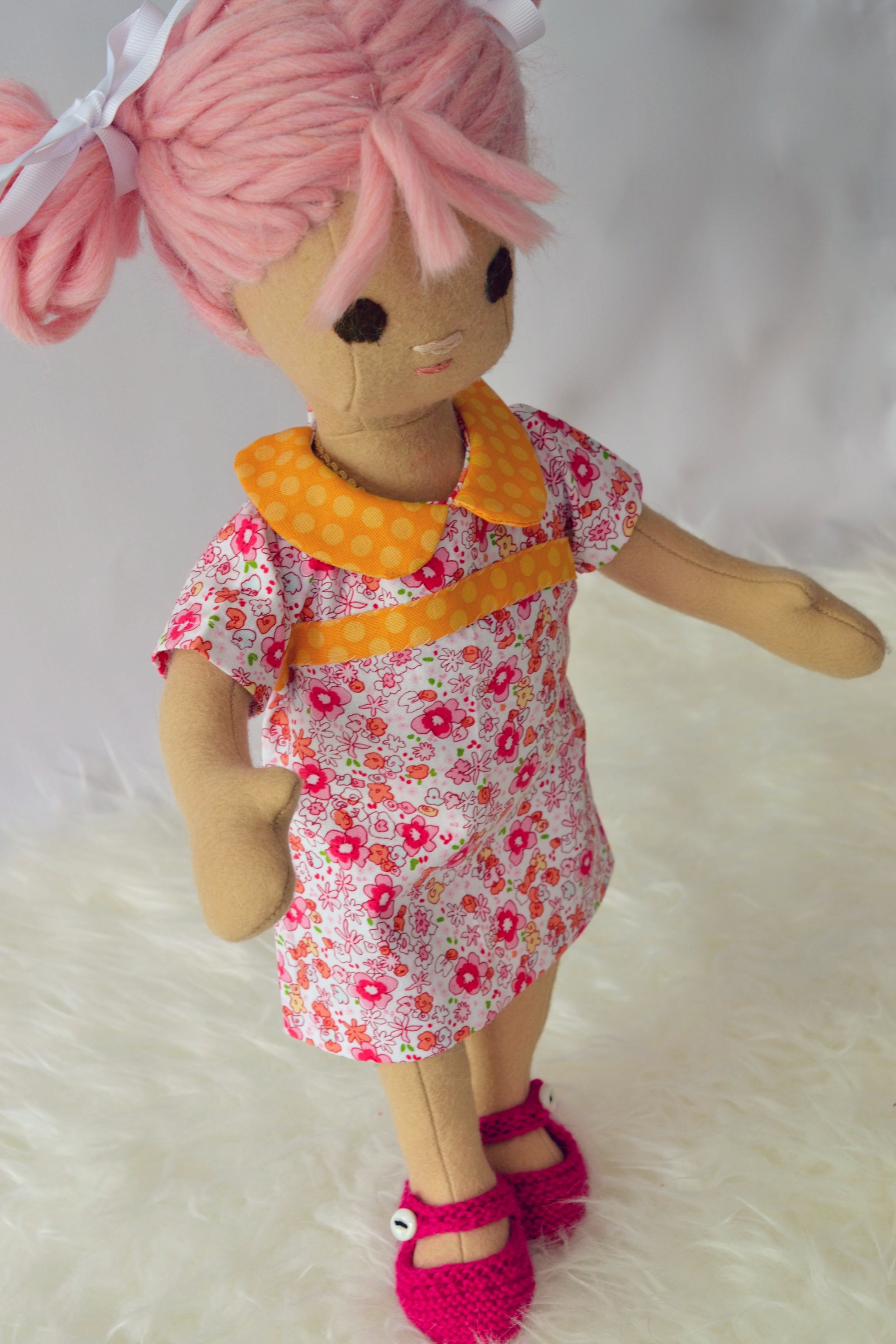 Pink Haired Doll