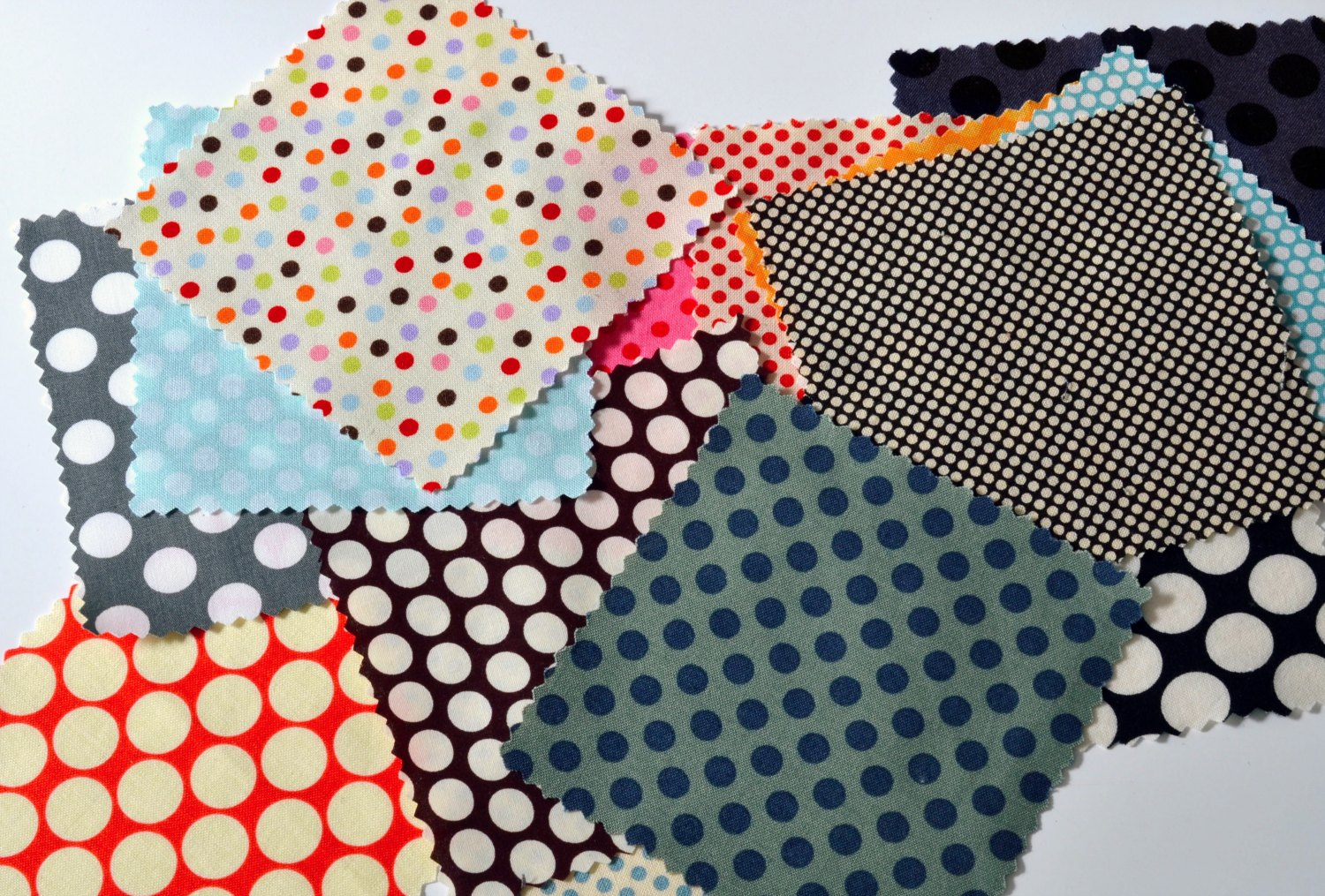 Why i Love Dotted fabric