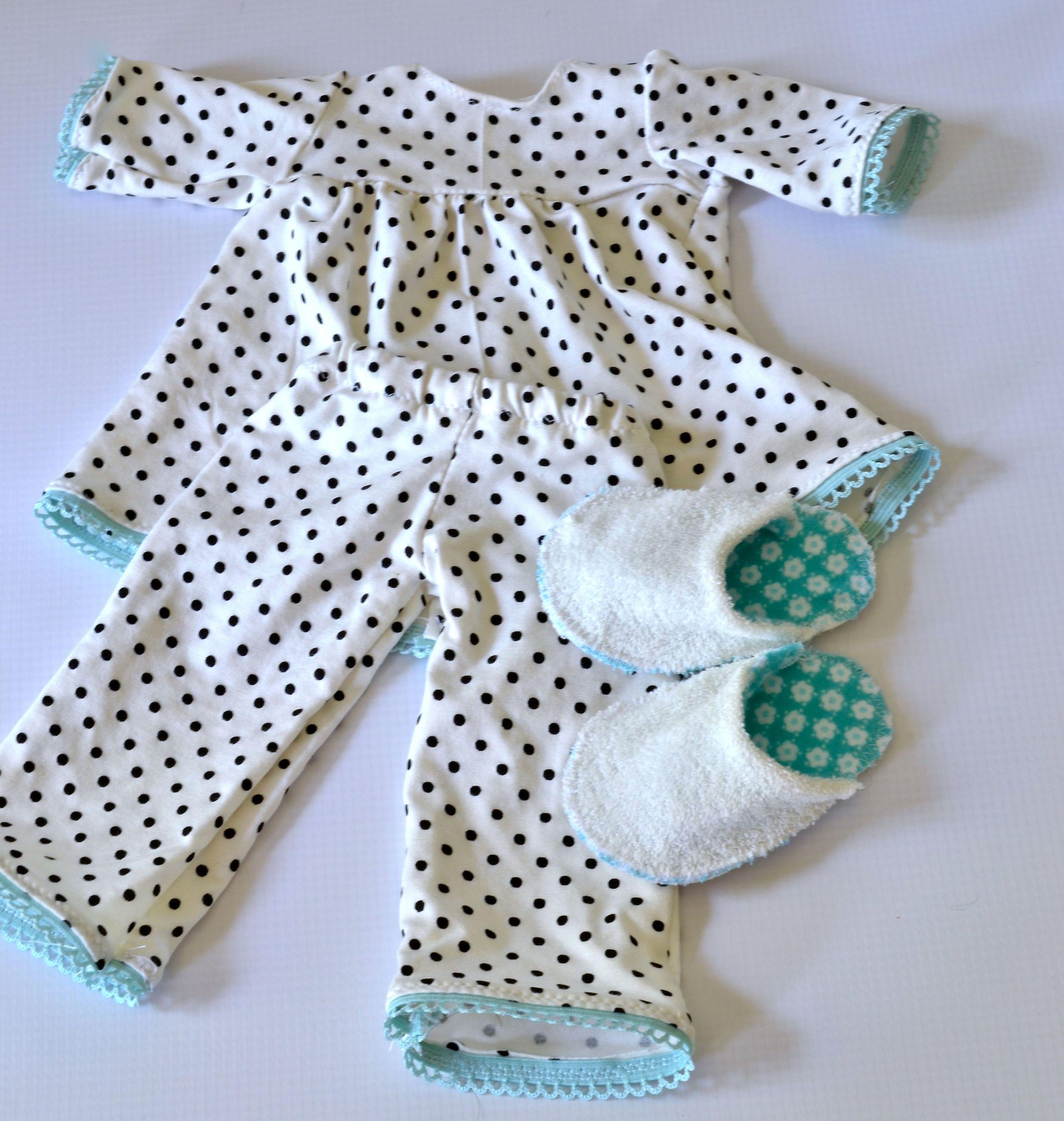 Handmade Doll Pajamas