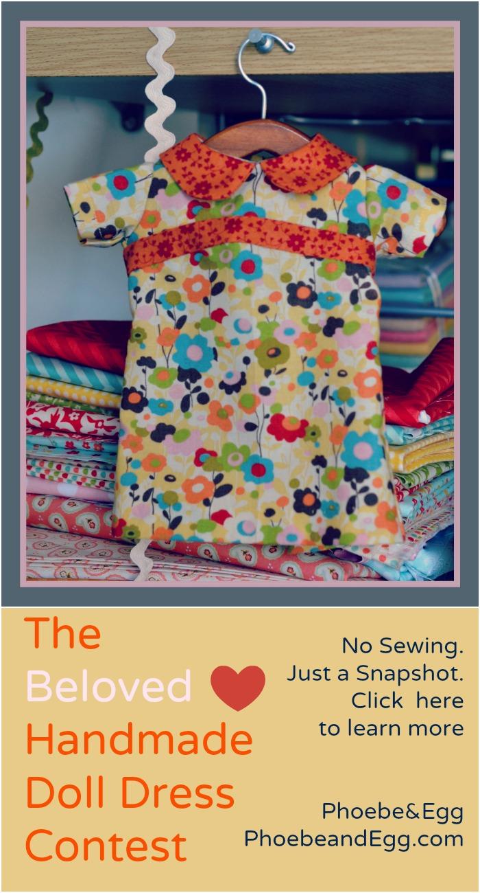 Beloved Handmade Doll Dress Contest