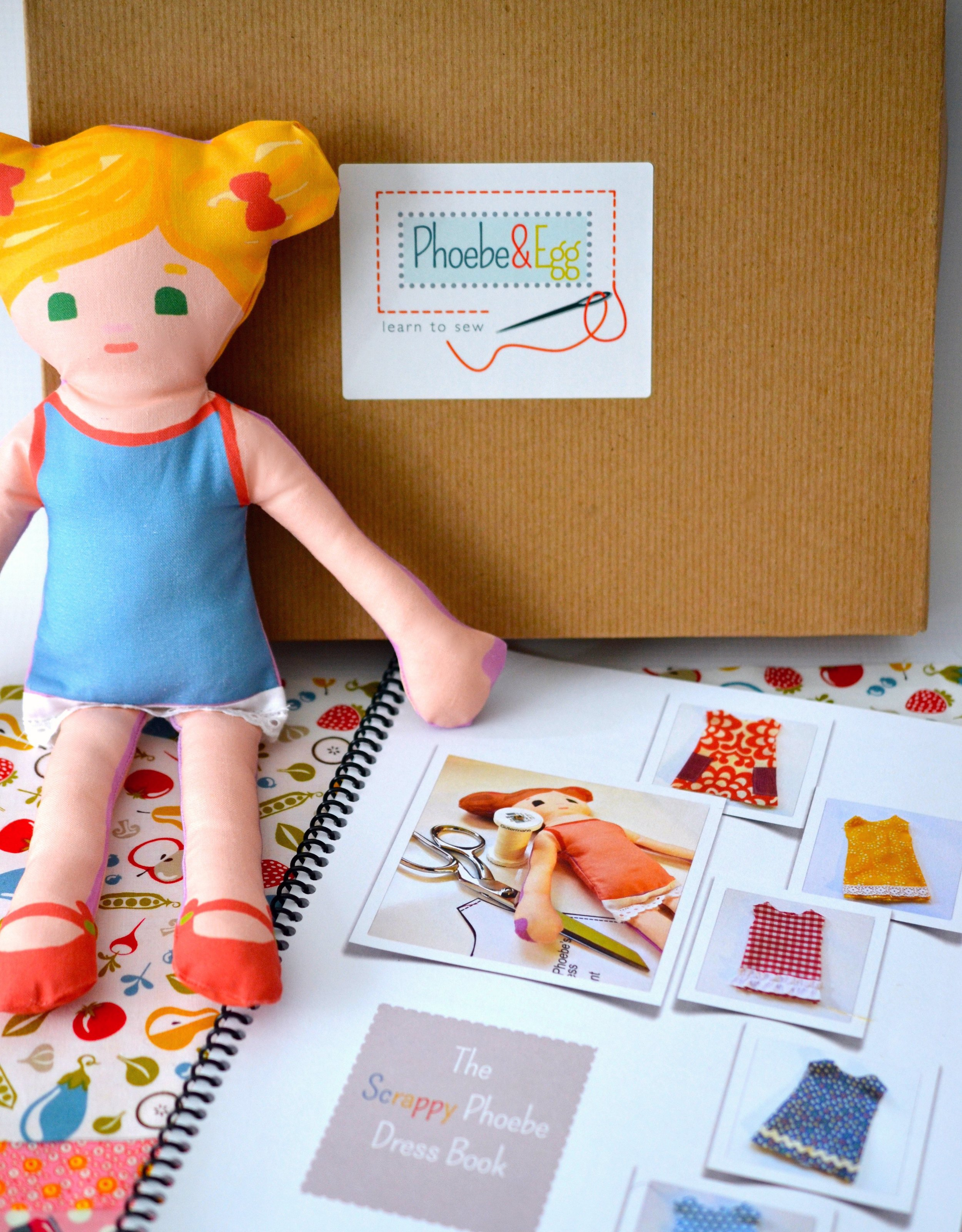 Scrappy Phoebe Learn To sew Kit